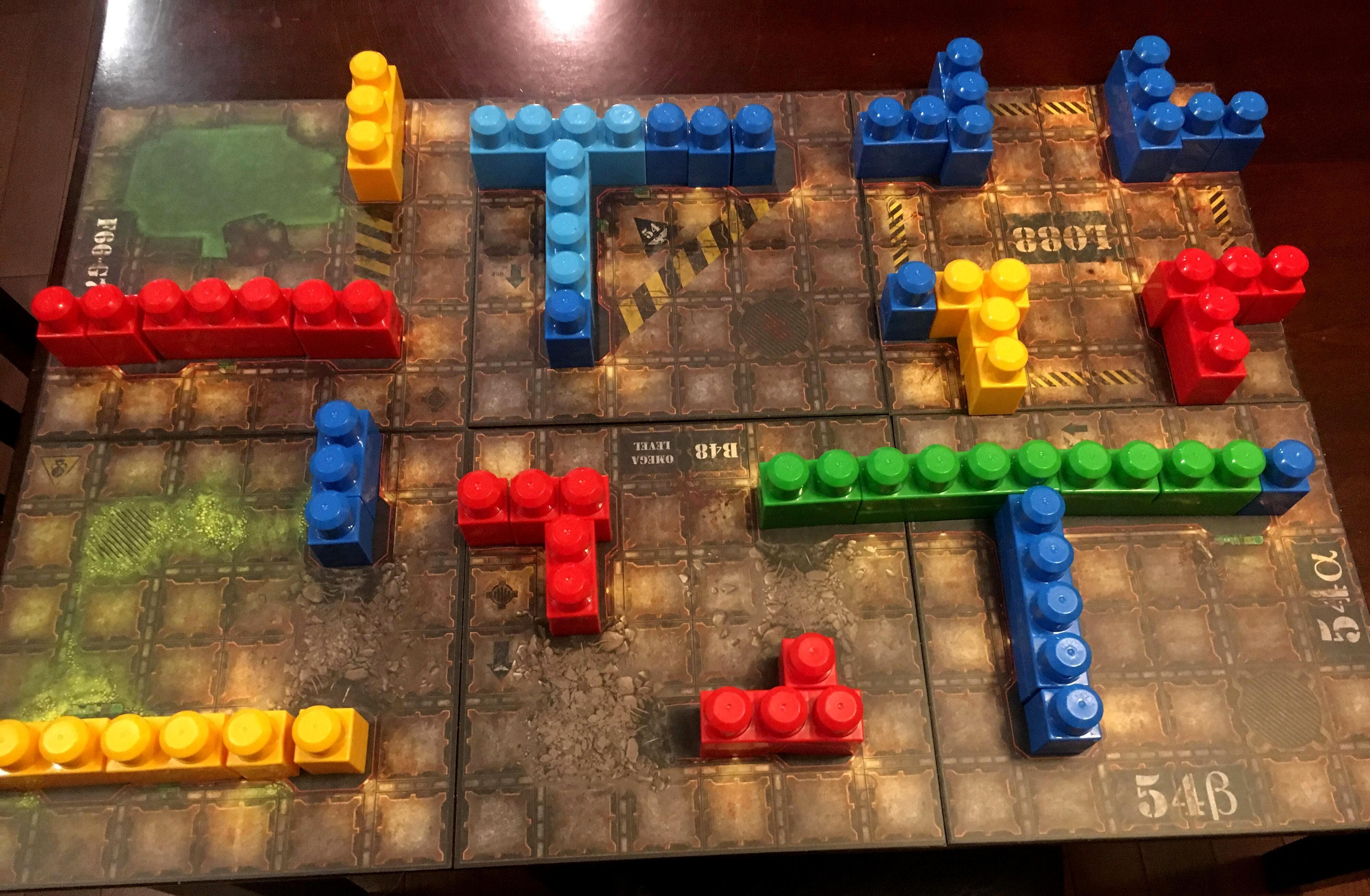 Escher, Goliath, Lego, Megablocks, N-17, N-18, Necromunda, Terrain, Toy, Underhive