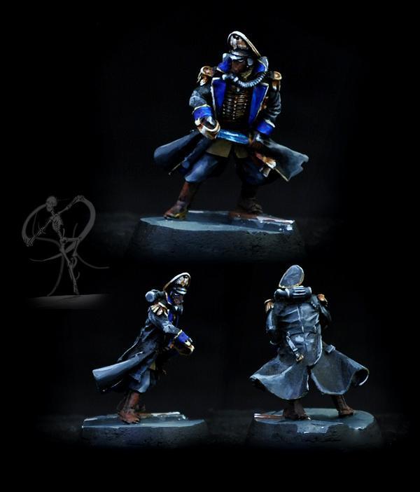 Astra Militarum, Death Korps of Krieg, Imperial Guard, Non-Metallic Metal