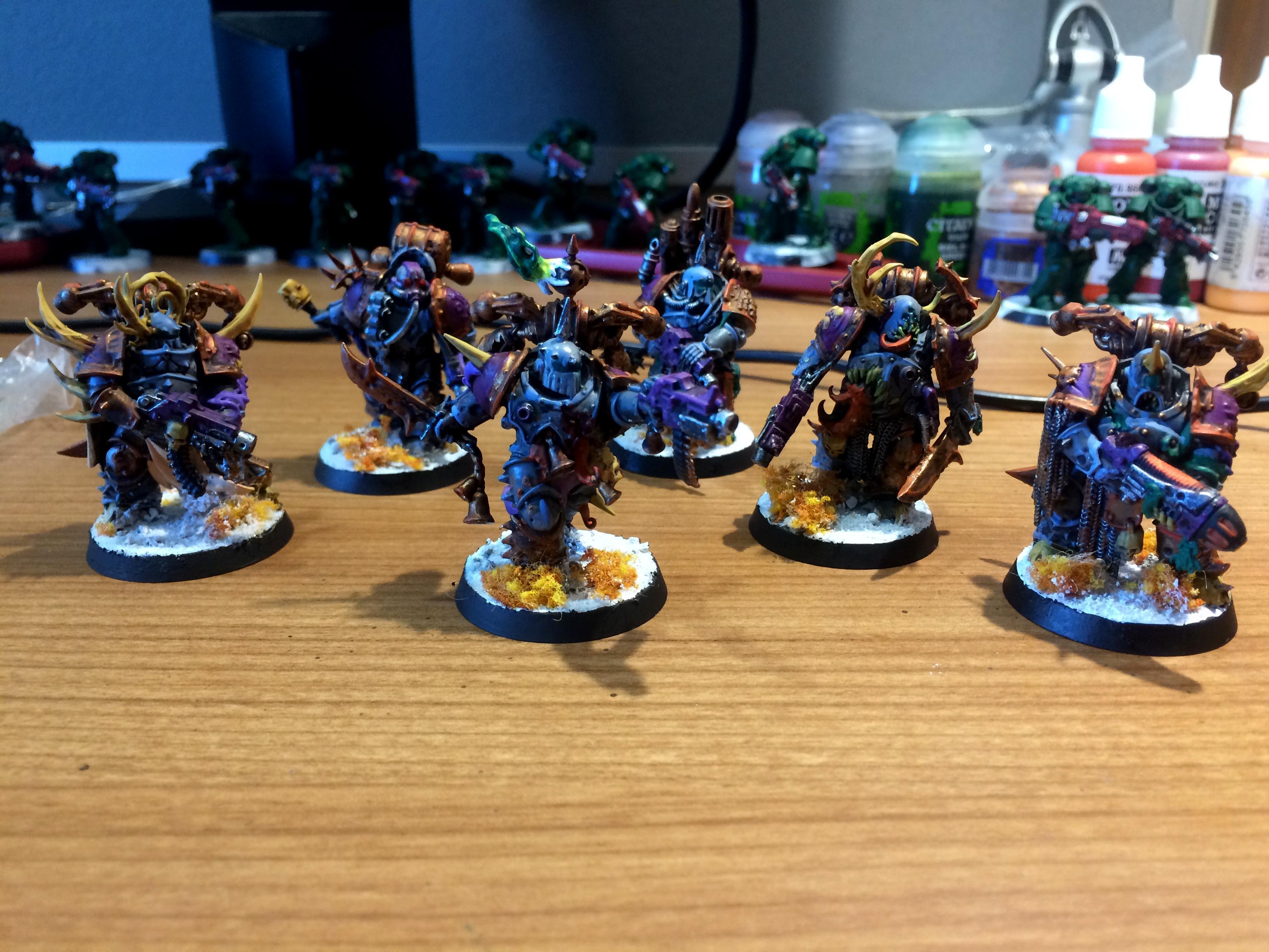 Chaos, Dark Imperium, Nurgle, Plague Marines, Space Marines