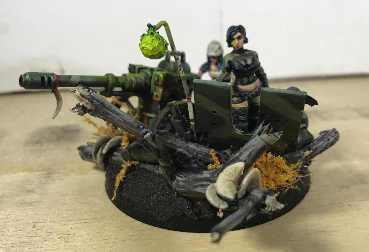 Autocannon, Female, Heavy Weapon, Imperial Guard