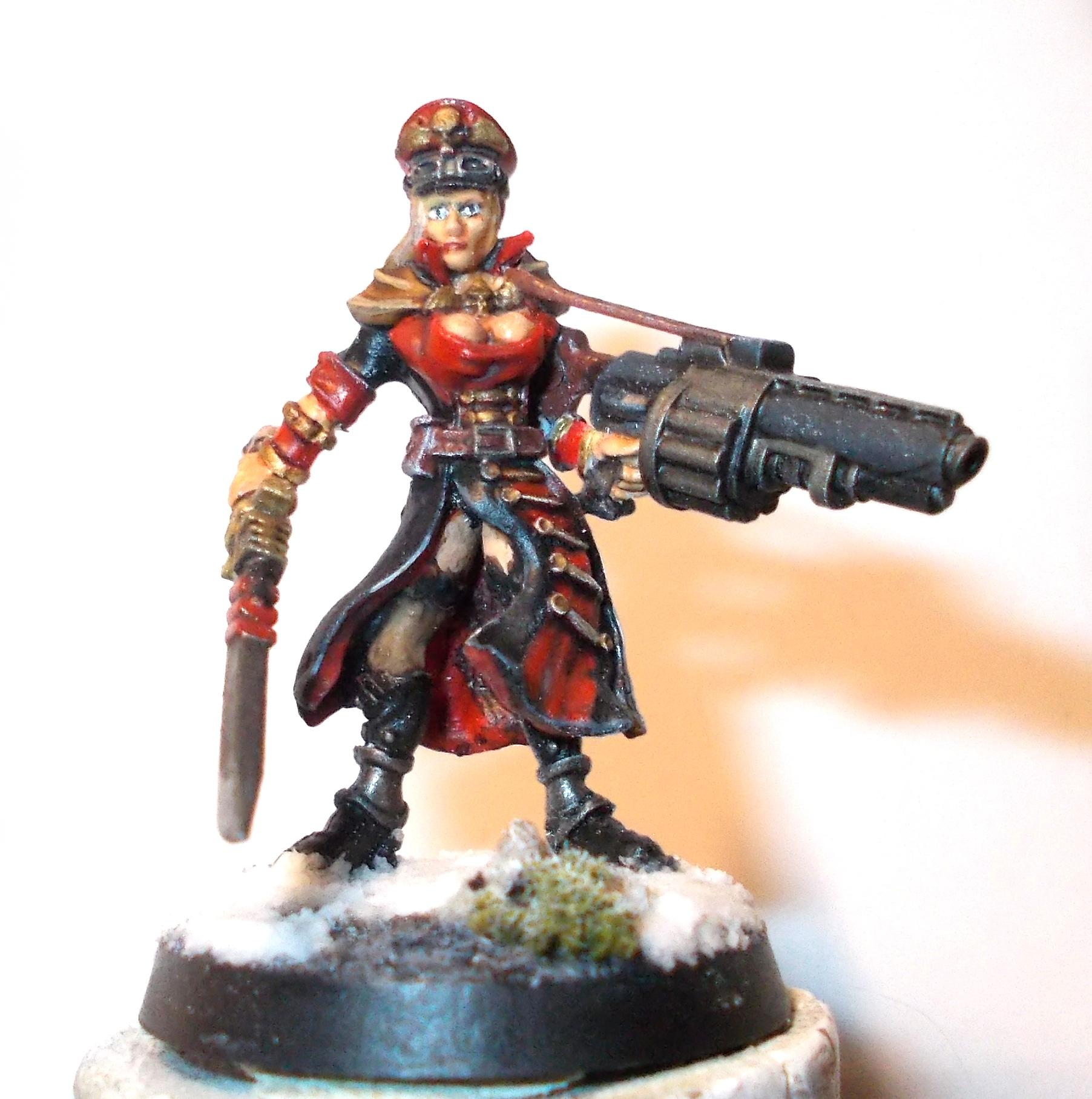 Commissar, Guard, Wargame Exclusive