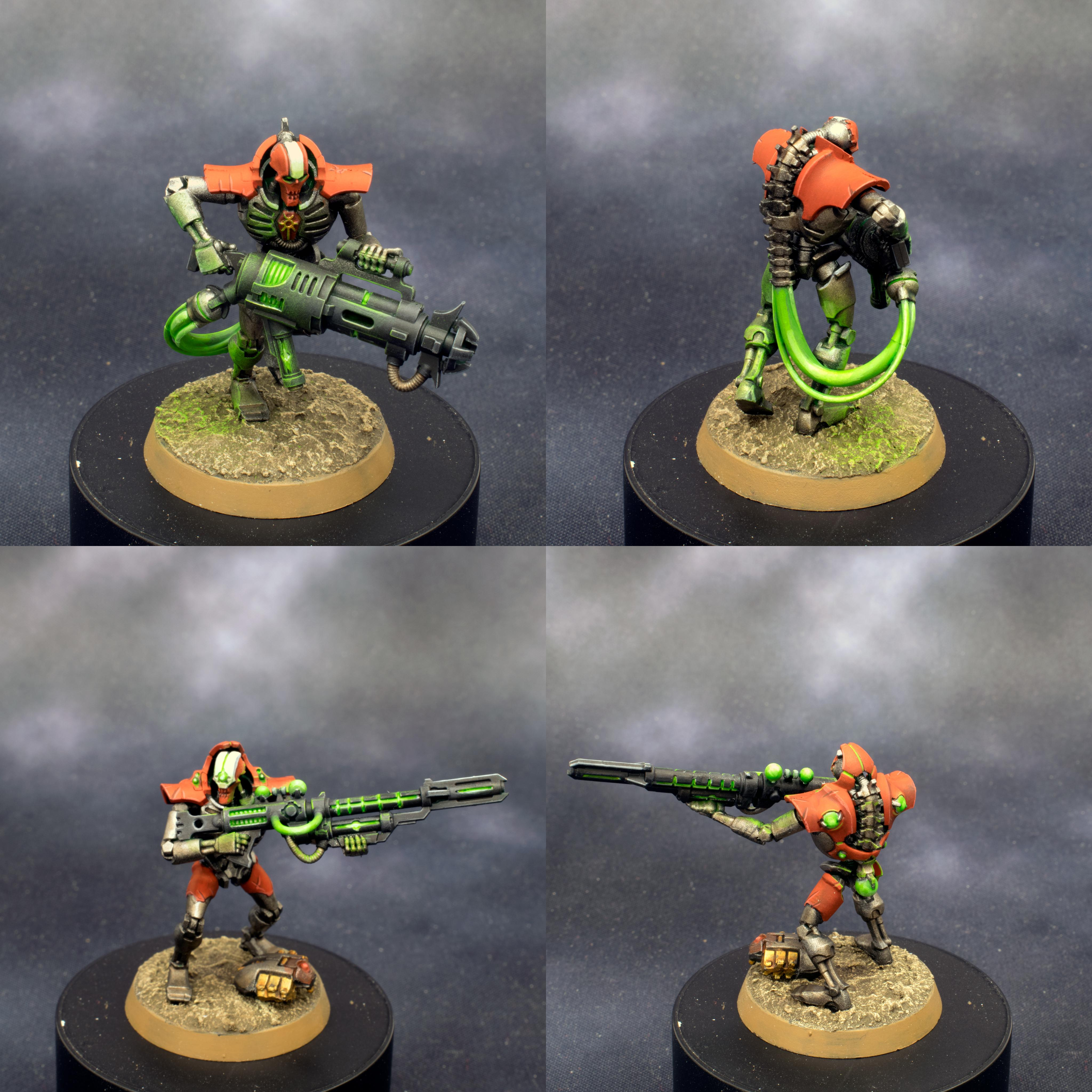 Deathmark, Eavymetal, Glow, Immortal, Killteam, Necrons, Object Source Lighting