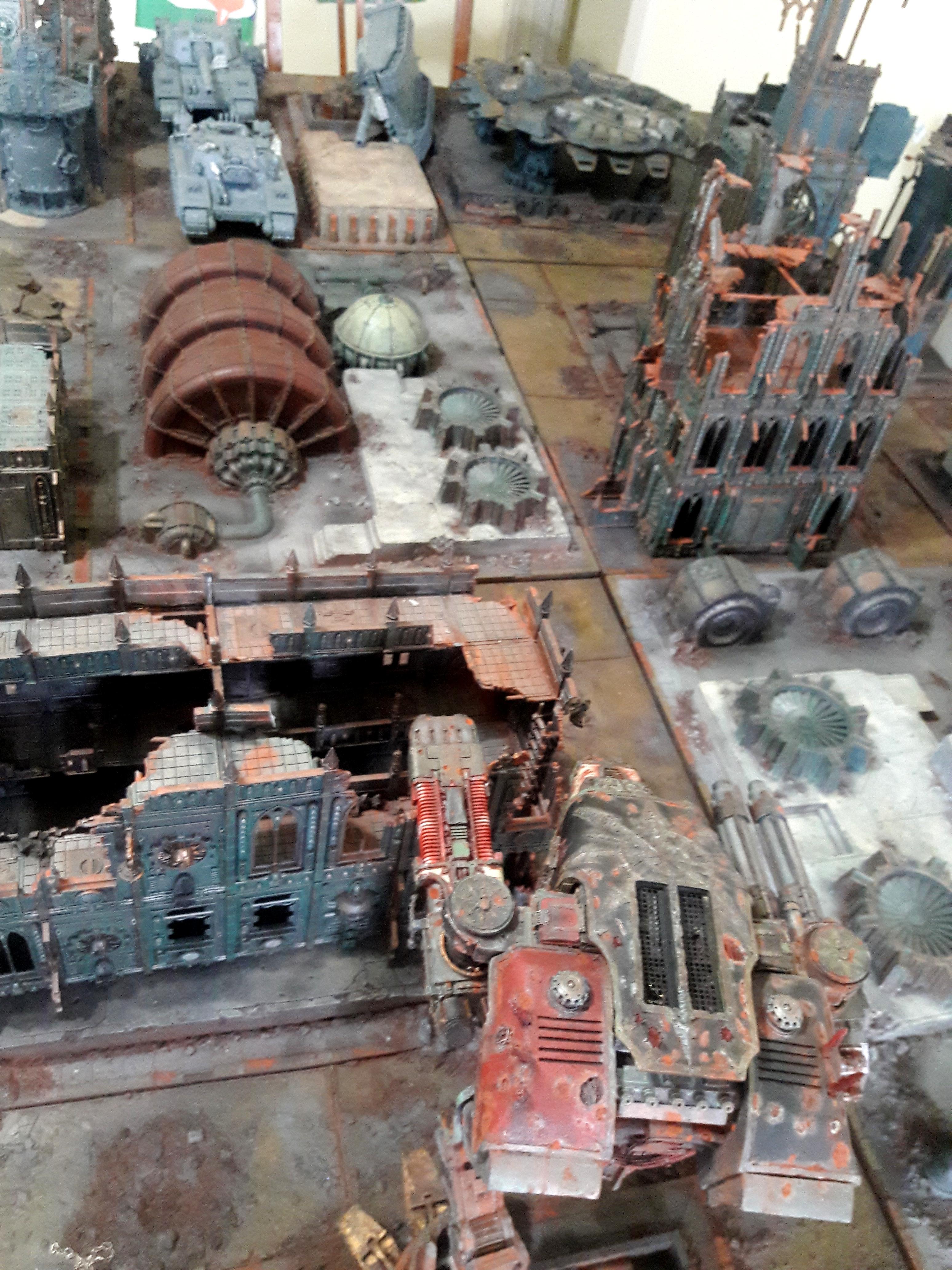 Cities Of Death, Forge World, Imperial Industrial Sector, Kill Team, Legio Mortis, Terrain, Titan, Warhammer 40,000, Warhound