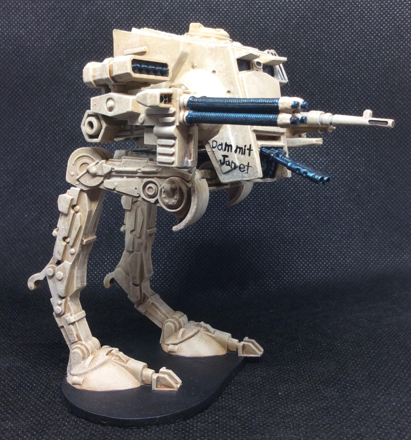 At-st, Freehand, General Weiss, Imperial Assault, Star Wars