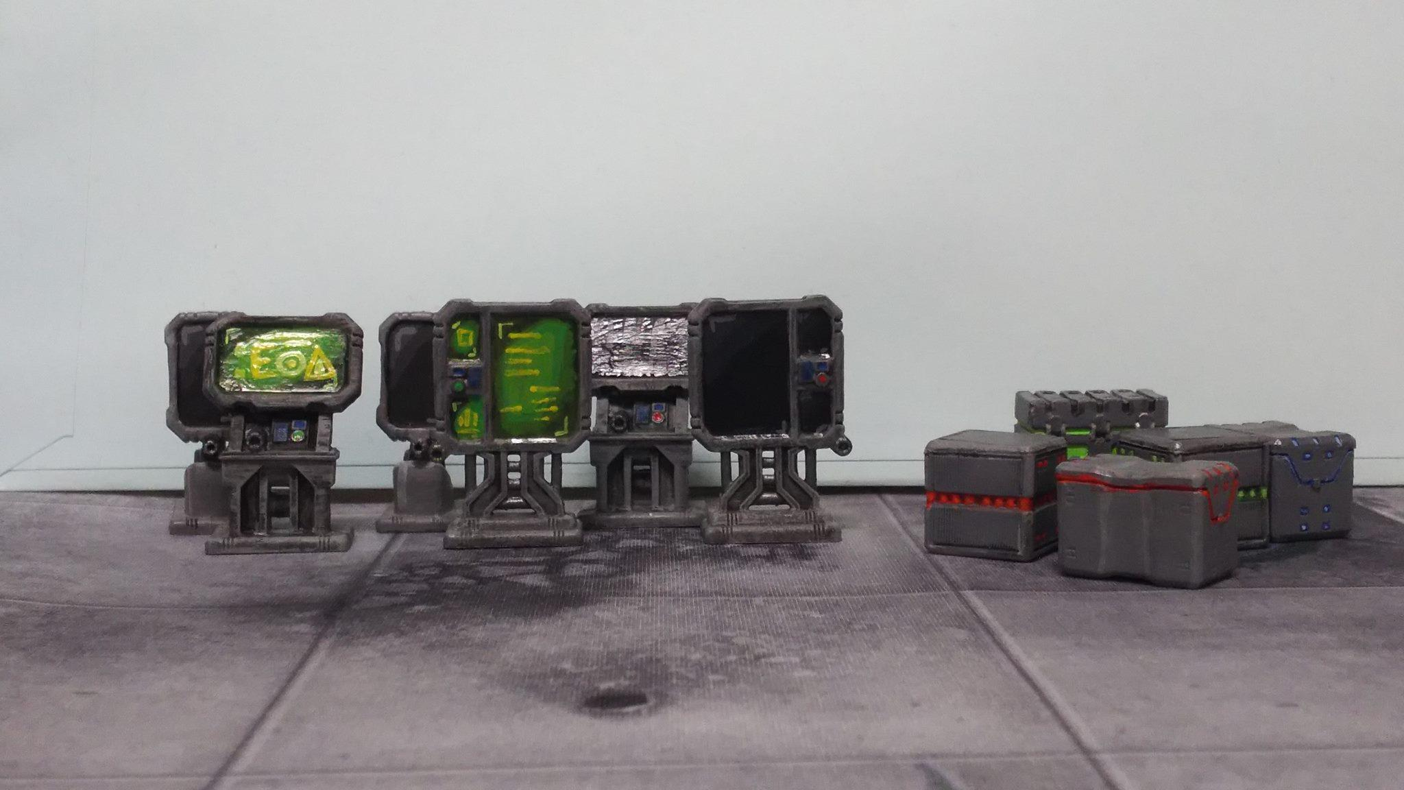 Furniture, Mantic Terrain Crate, Star Saga, Terrain