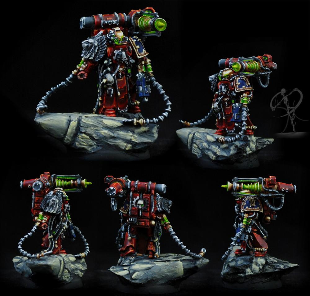 Astral Claws, Badab, Forge World, Master Of The Forge, Non-Metallic Metal, Space Marines, Techmarine, Warhammer 40,000