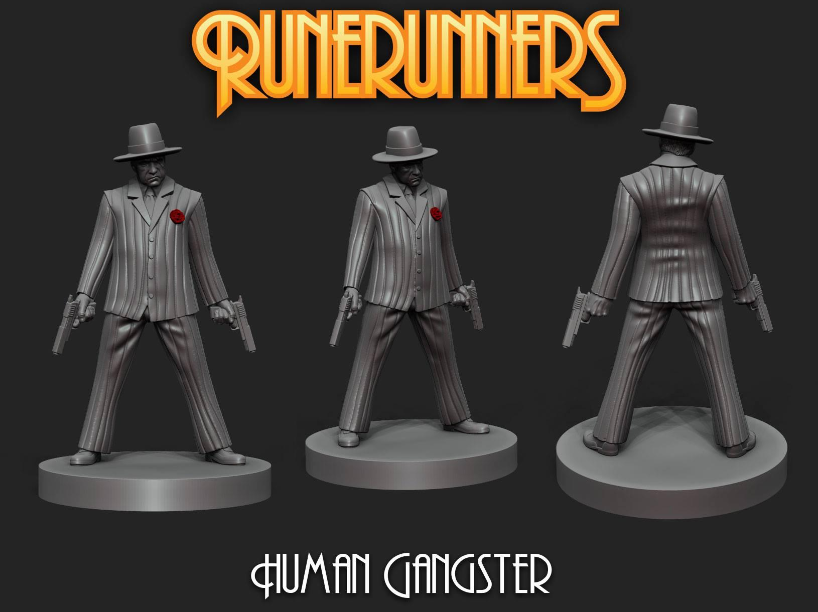Runerunners Human Gangser