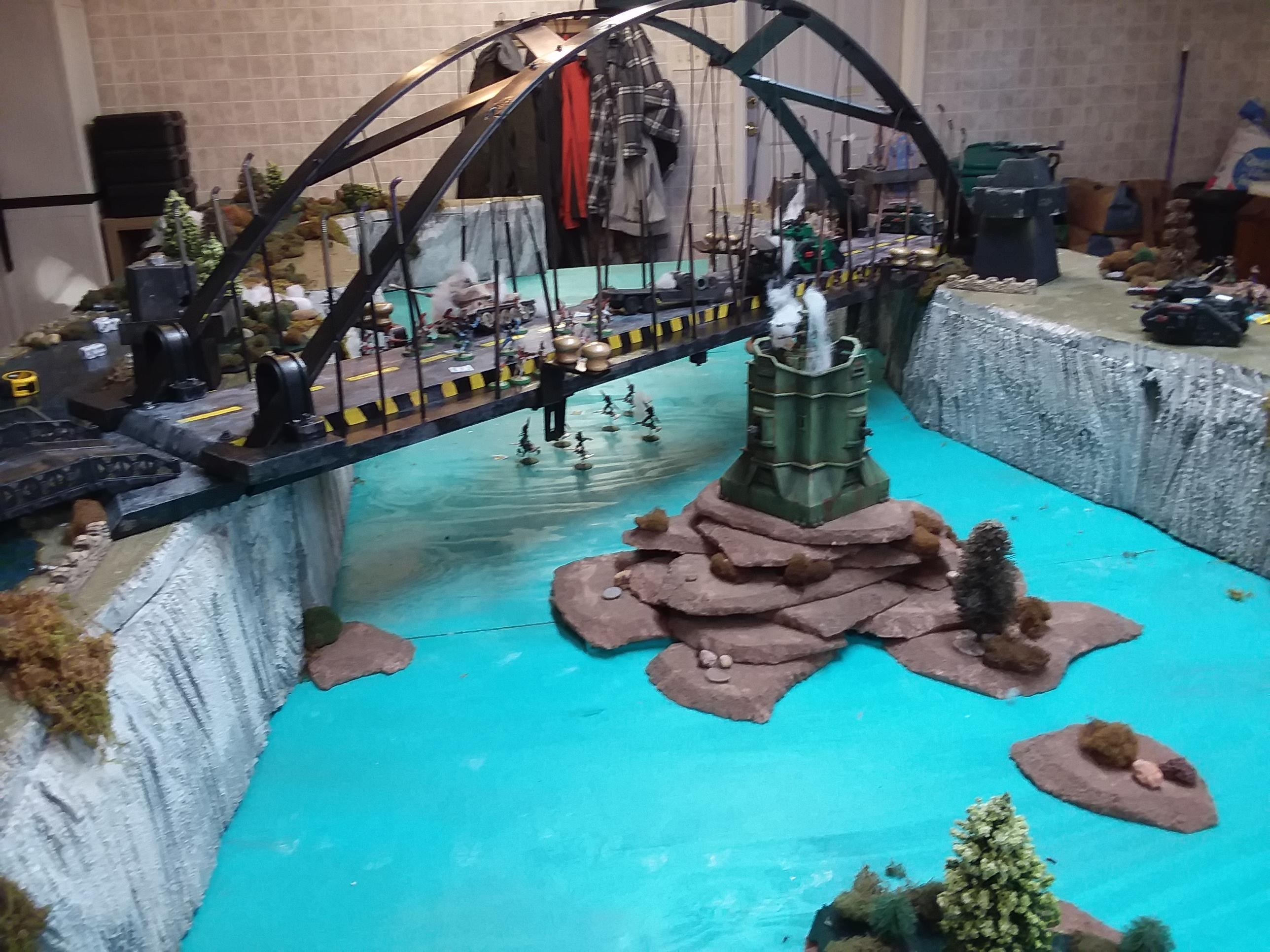Battle Report, Bridge, River, Terrain