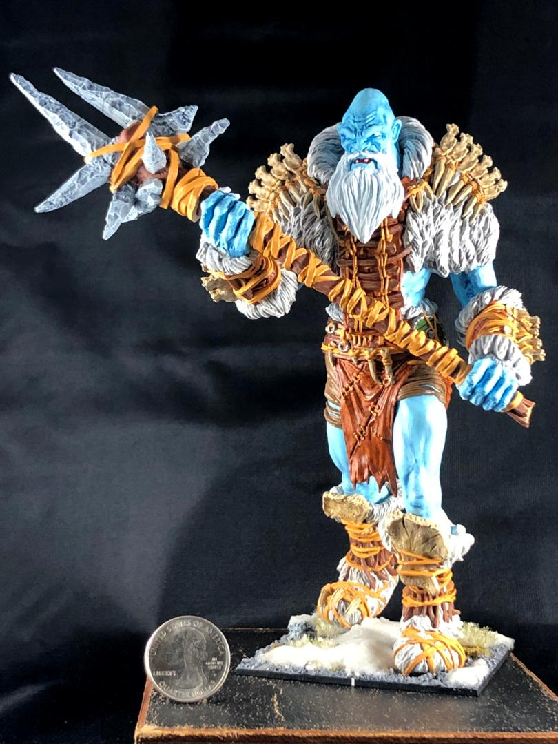 Mantic Frost Giant, mantic frost giant