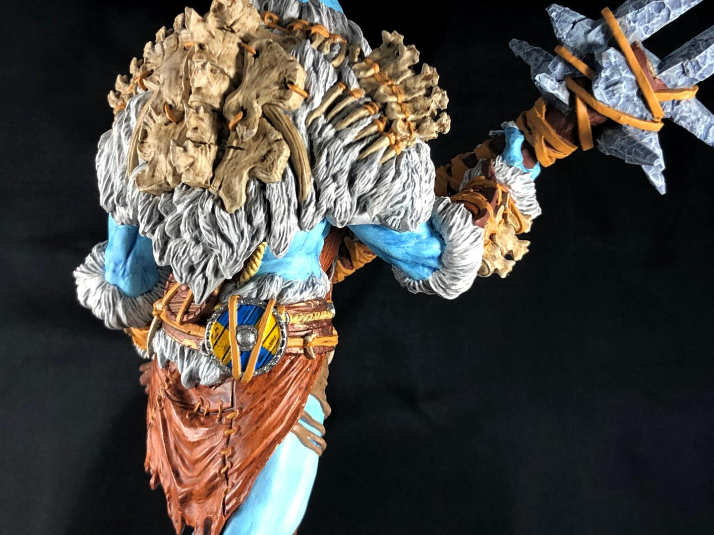 Mantic Frost Giant, mantic frost giant, back