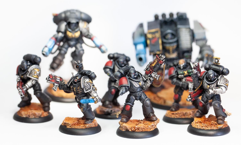 Deathwatch, Dreadnought, Inceptor, Intercessor, Reiver, Space Marines, Veteran