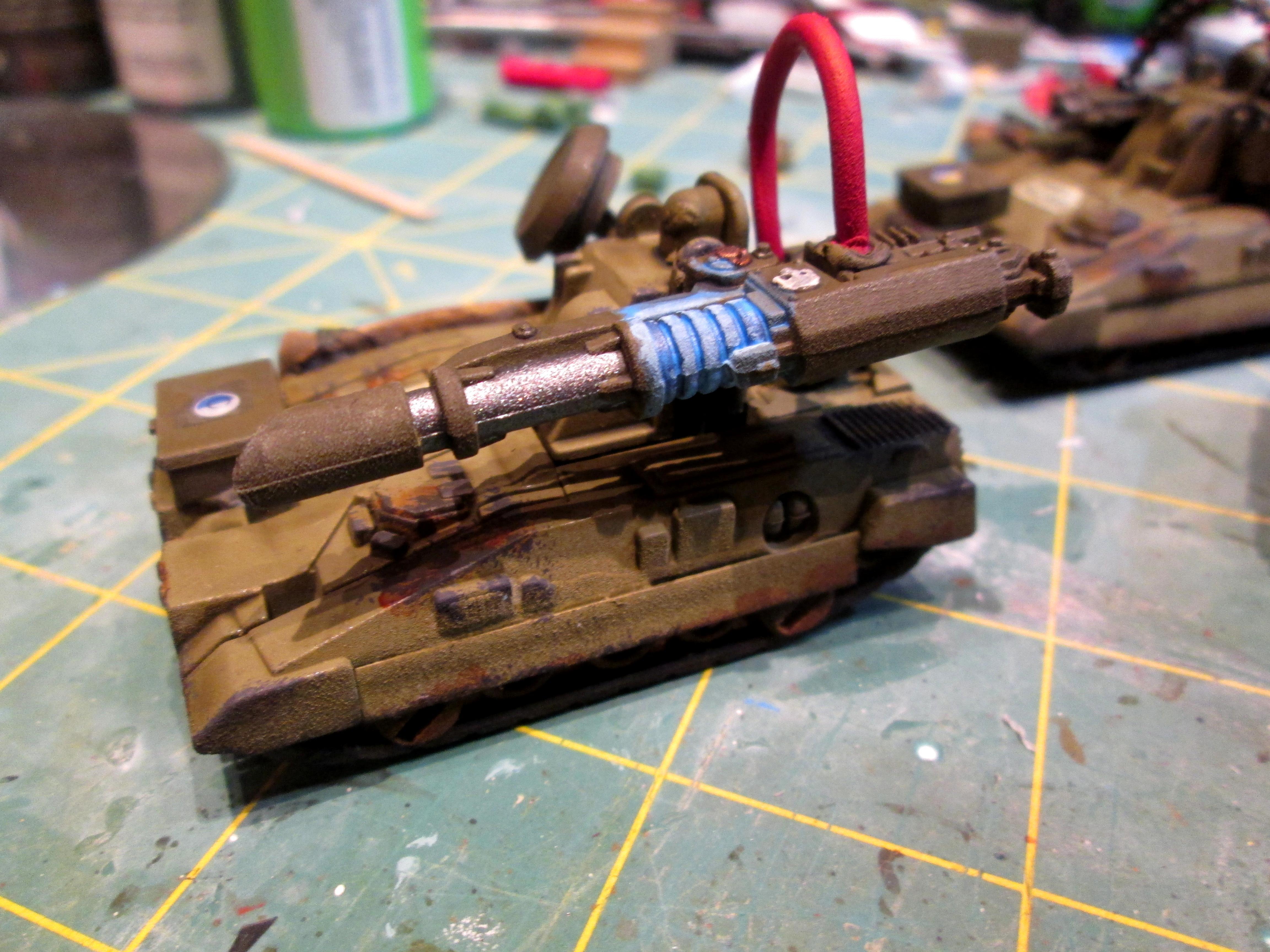 Autocannon, Bolter, Heavy Weapon, Lascannon, Self Propelled