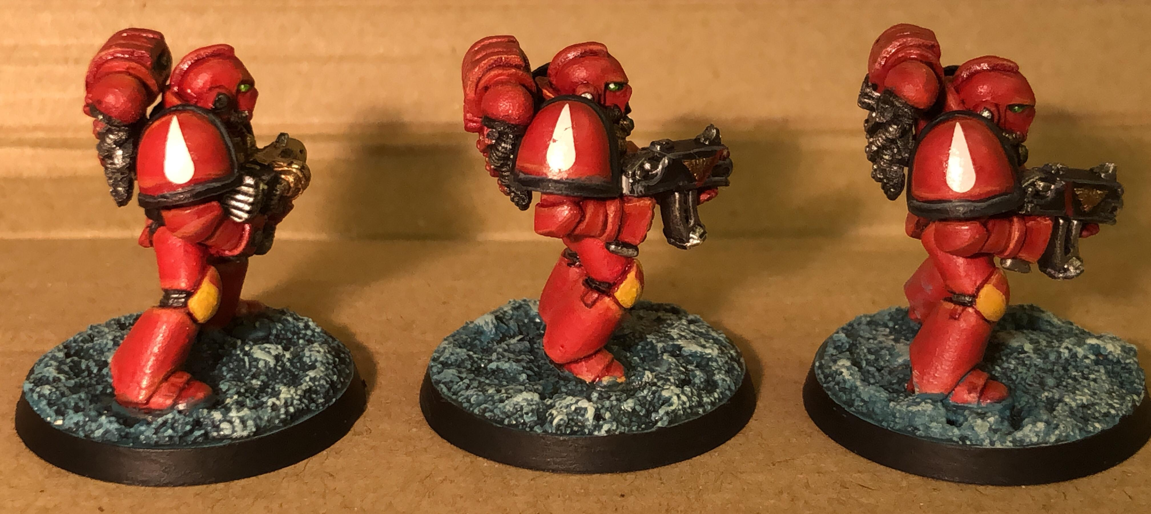 2nd Edition, Blood Angels, Tactical Marines; Space Marines