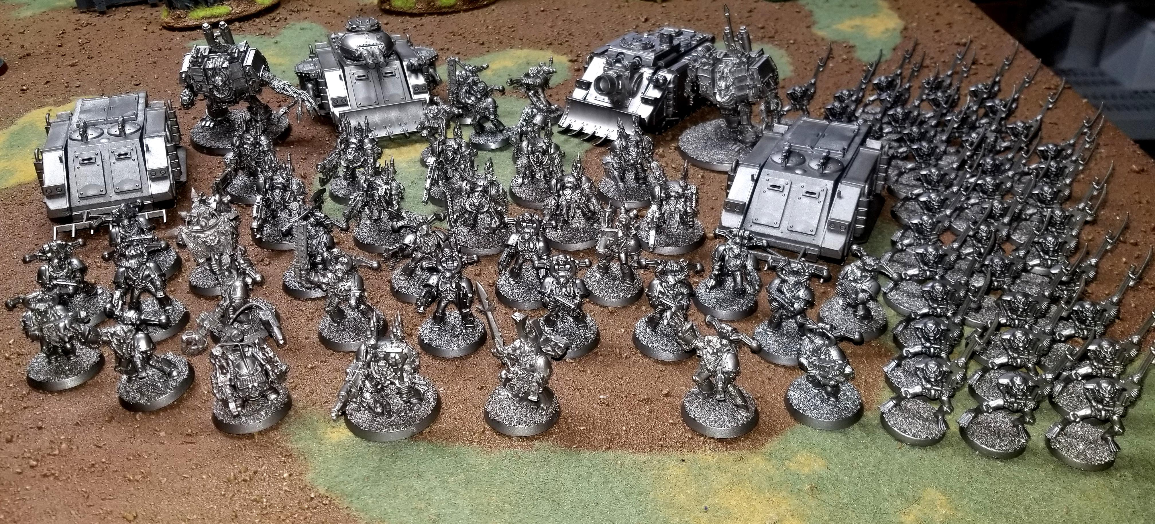 Army, Chaos, Space Marines