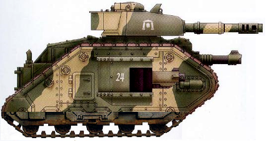 Leman Russ Mk II