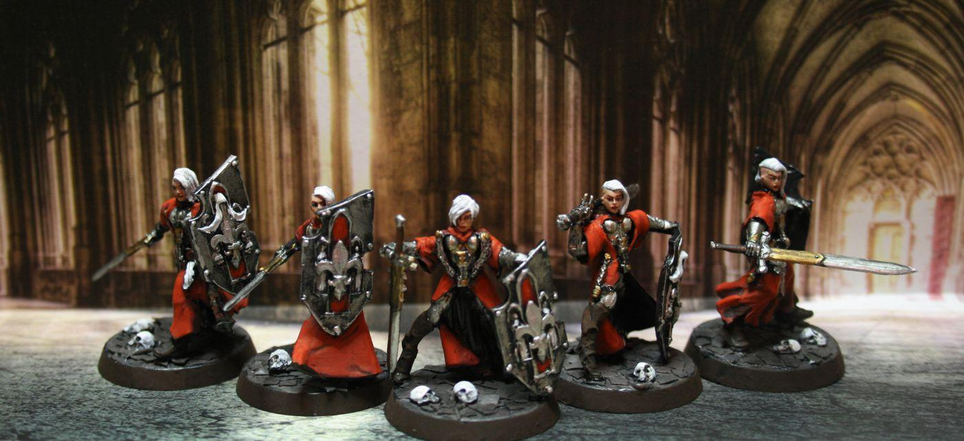 Crusaders, Inquisition, Sisters Of Battle, Sororitas