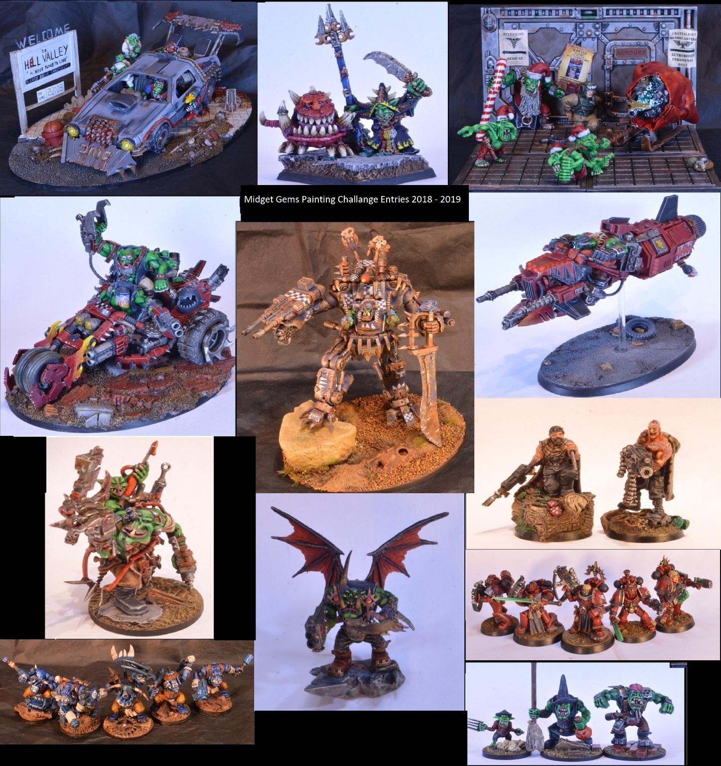 Midget Gems Conversions, Ork Conversions