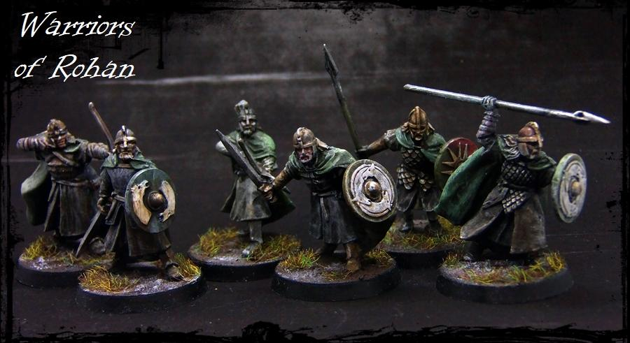 Infantry, Lord Of The Rings, Rohan, Warriors