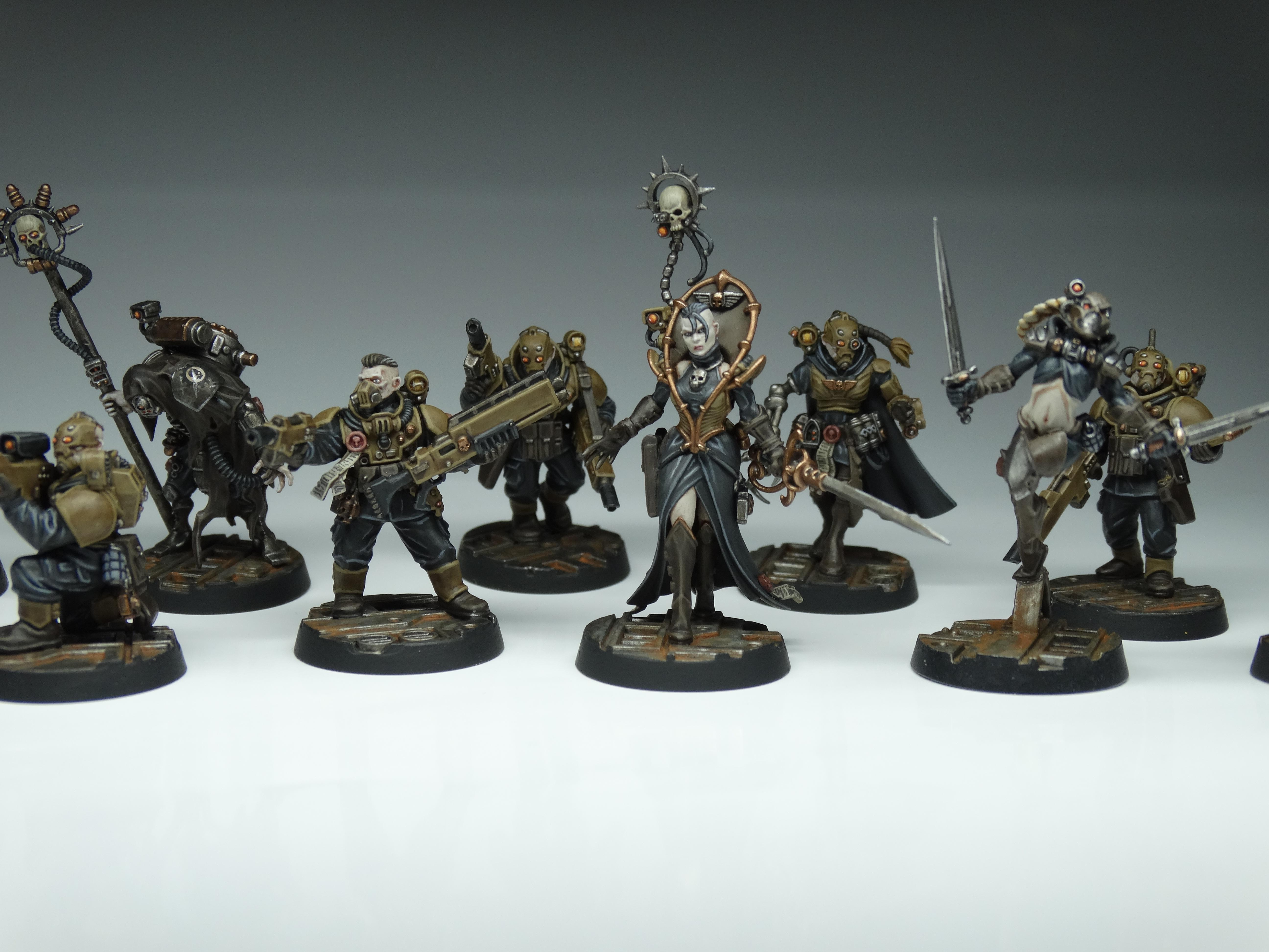 Conversion, Elucidian Starstriders, Imperial Guard, Imperial Navy, Inq28, Kitbash, Rogue Trader, Voidsmen, Warhammer 40,000