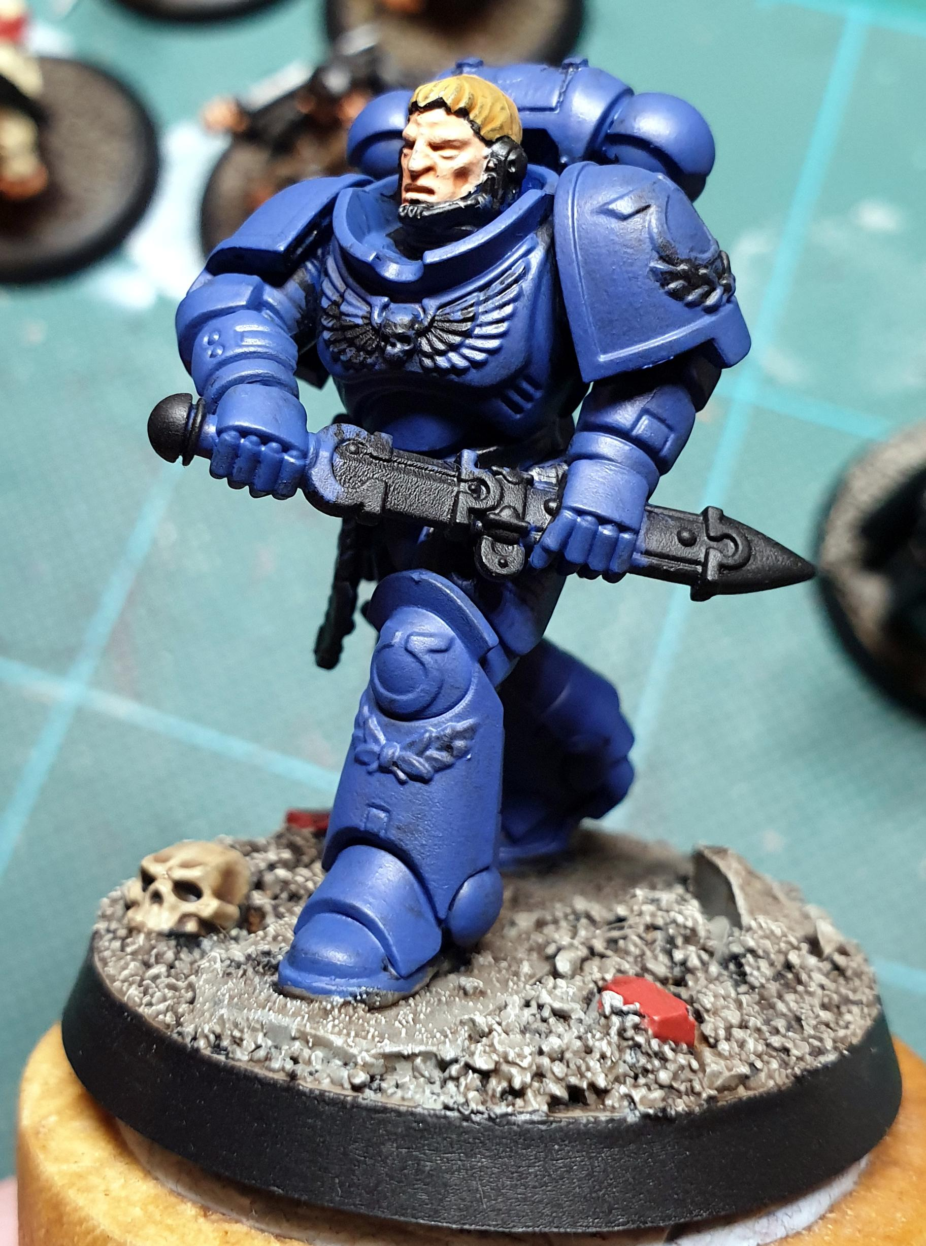 Space Marines, Ultramarines, Work In Progress