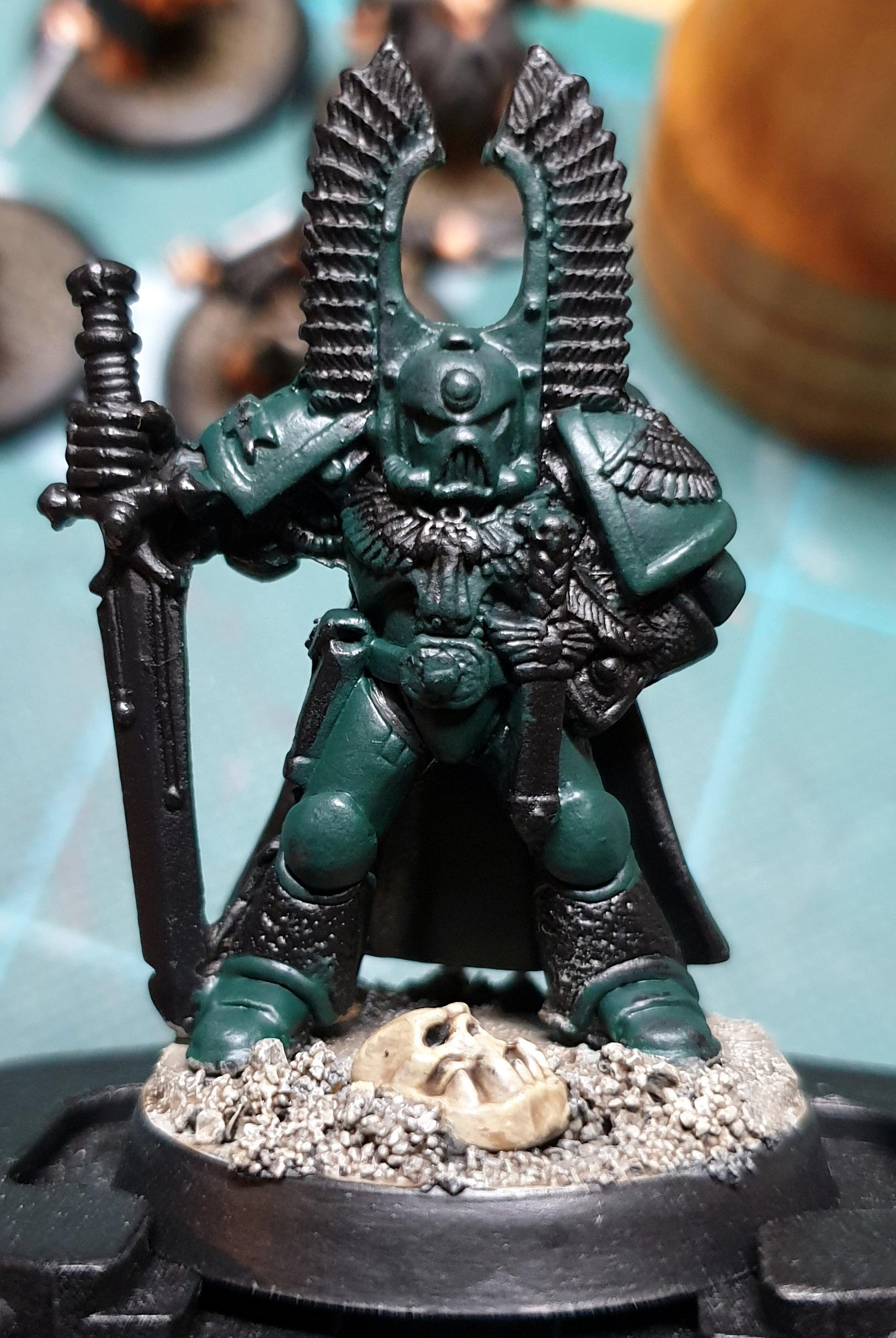 Dark Angels, Space Marines, Work In Progress
