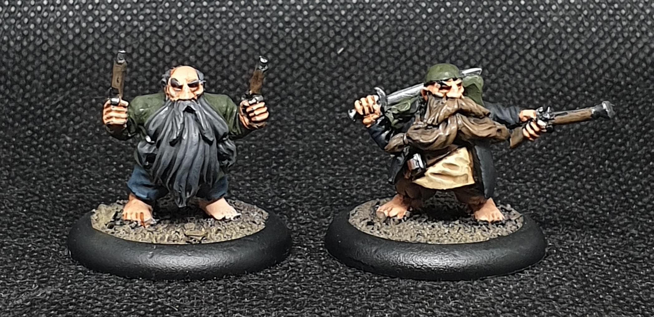 Black Scorpion, Dwarves, Pirate