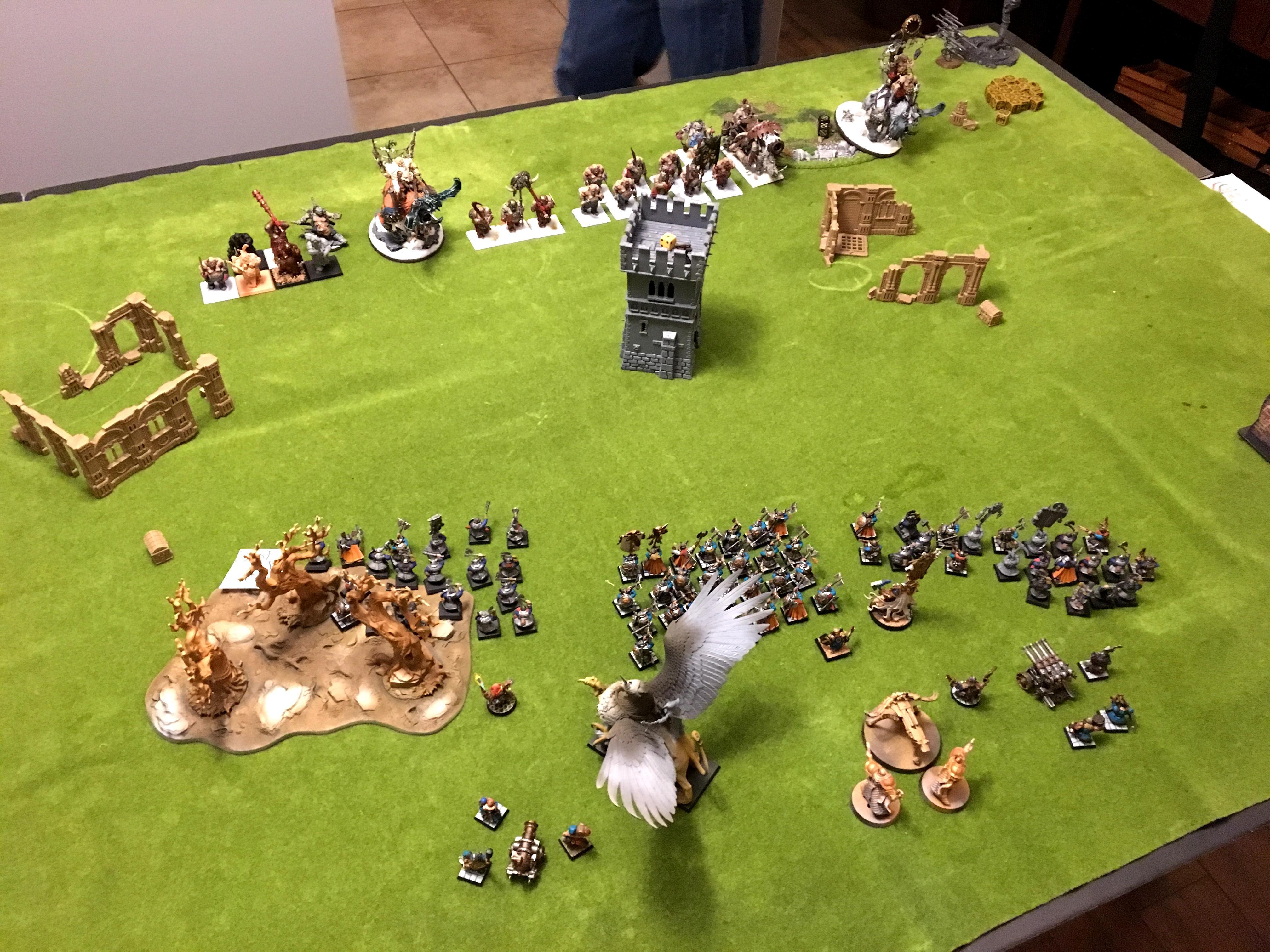 Dwarfs Vs Beastclaw, Dwarfs Vs Order, Order Vs Dwarfs