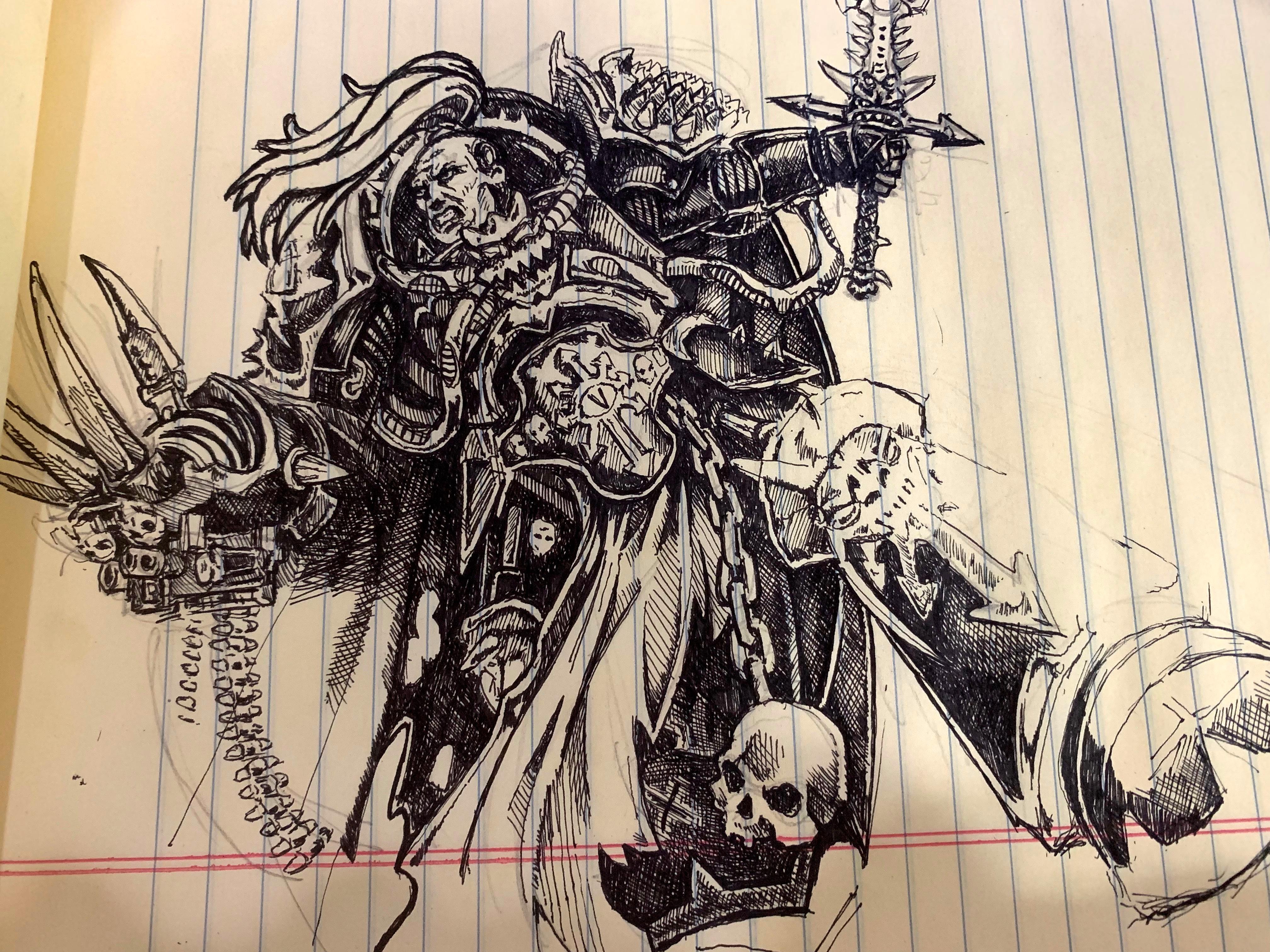 Abaddon, Black Legion, Chaos
