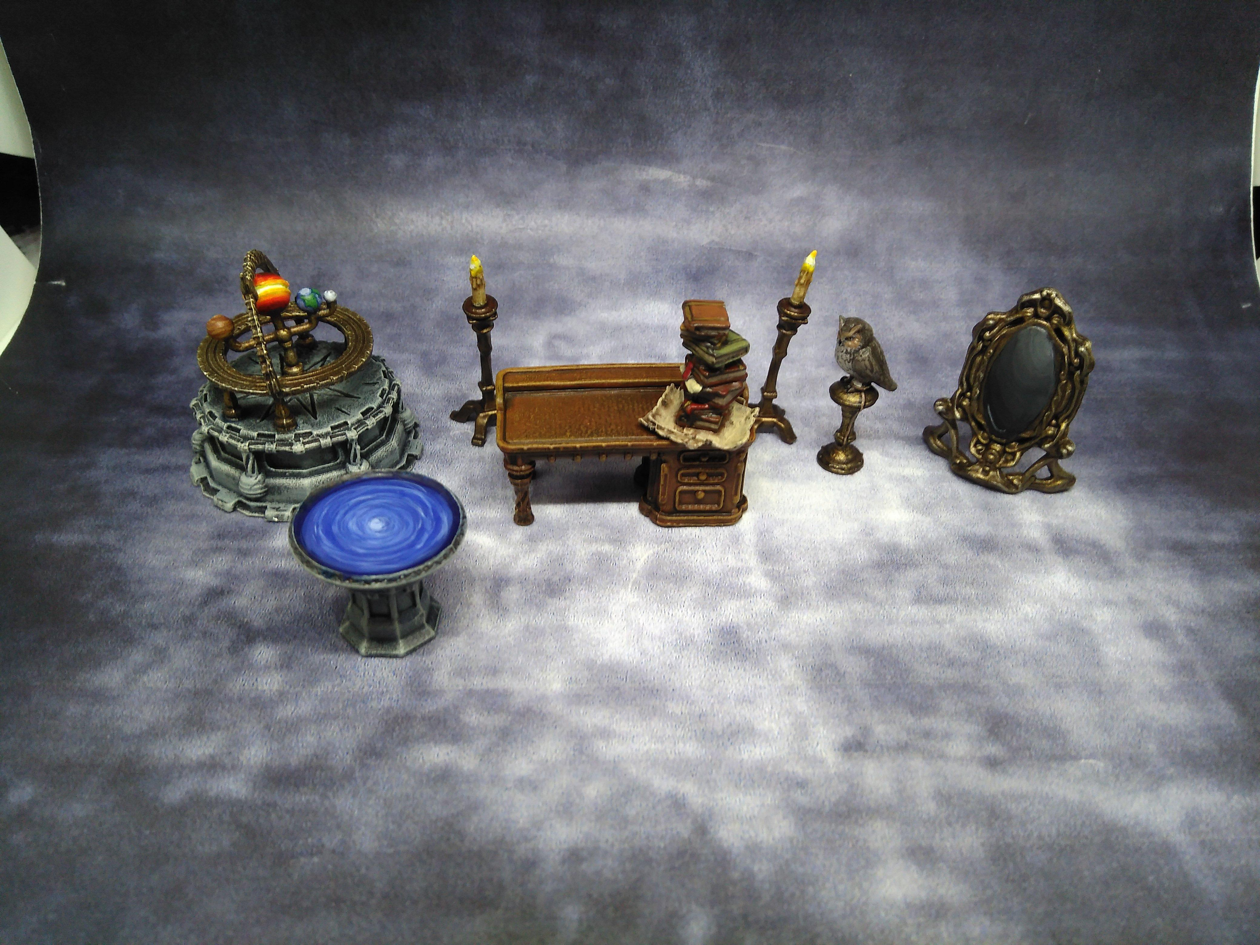 Mantic, March 2019, Study, Terrain Crate, Wizard