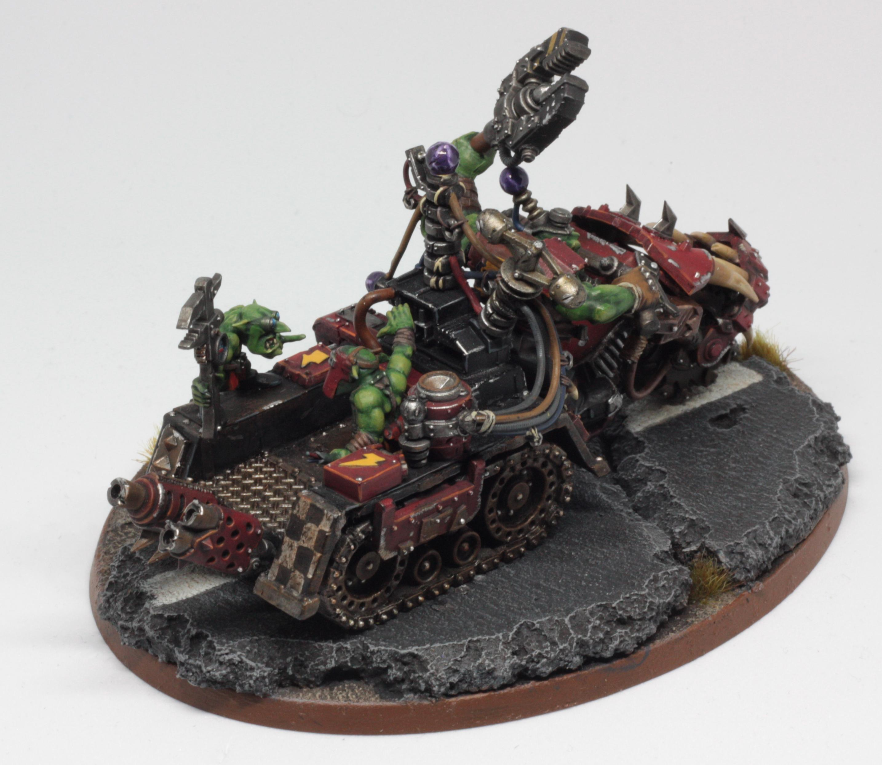 Big Mek, Bike, Evil Sunz, Fast, Headquarters, Orks, Speedfreeks, Warbike, Warhammer 40,000