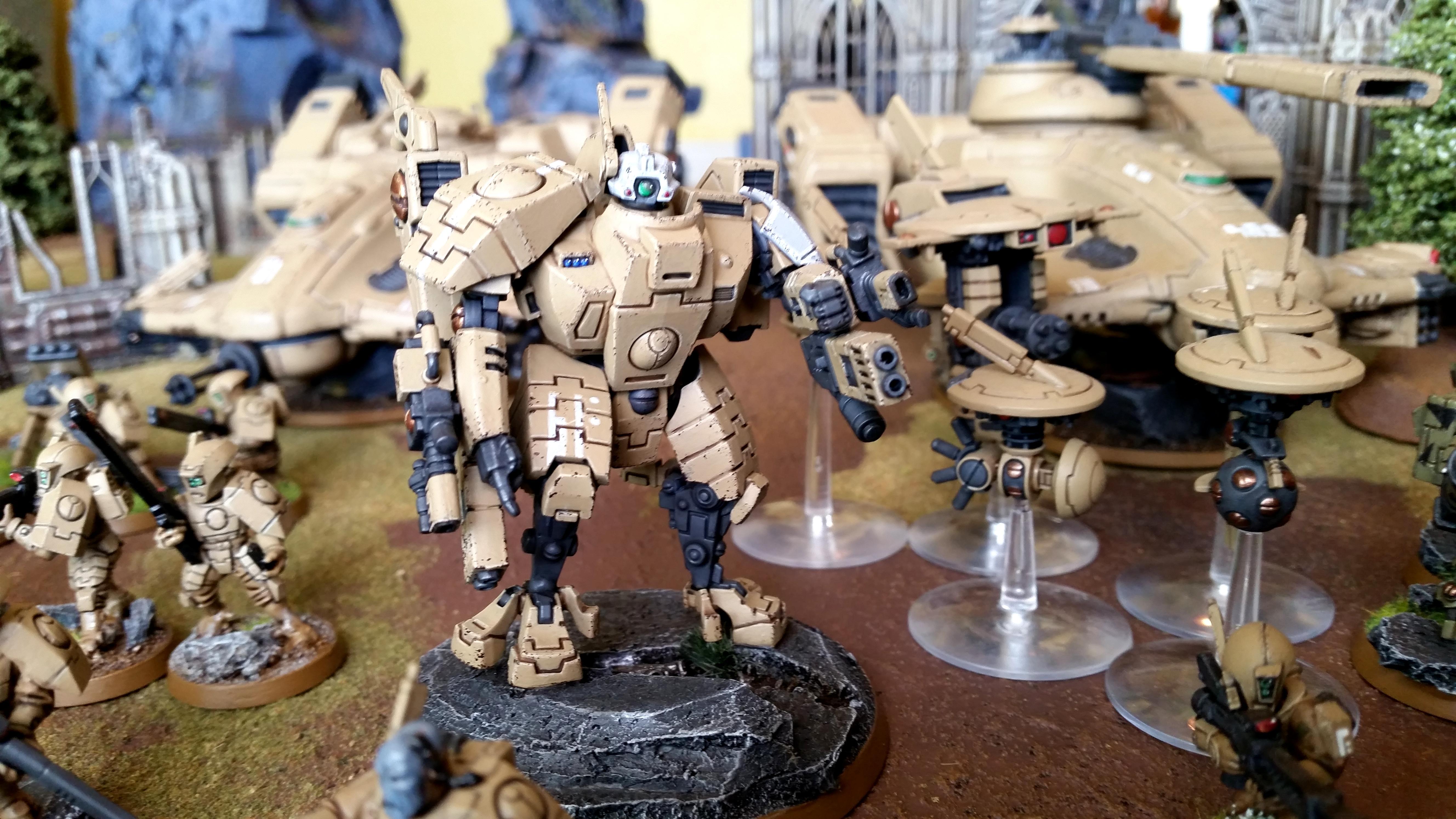 Battle Report, Space Marines, T'pau, Tau