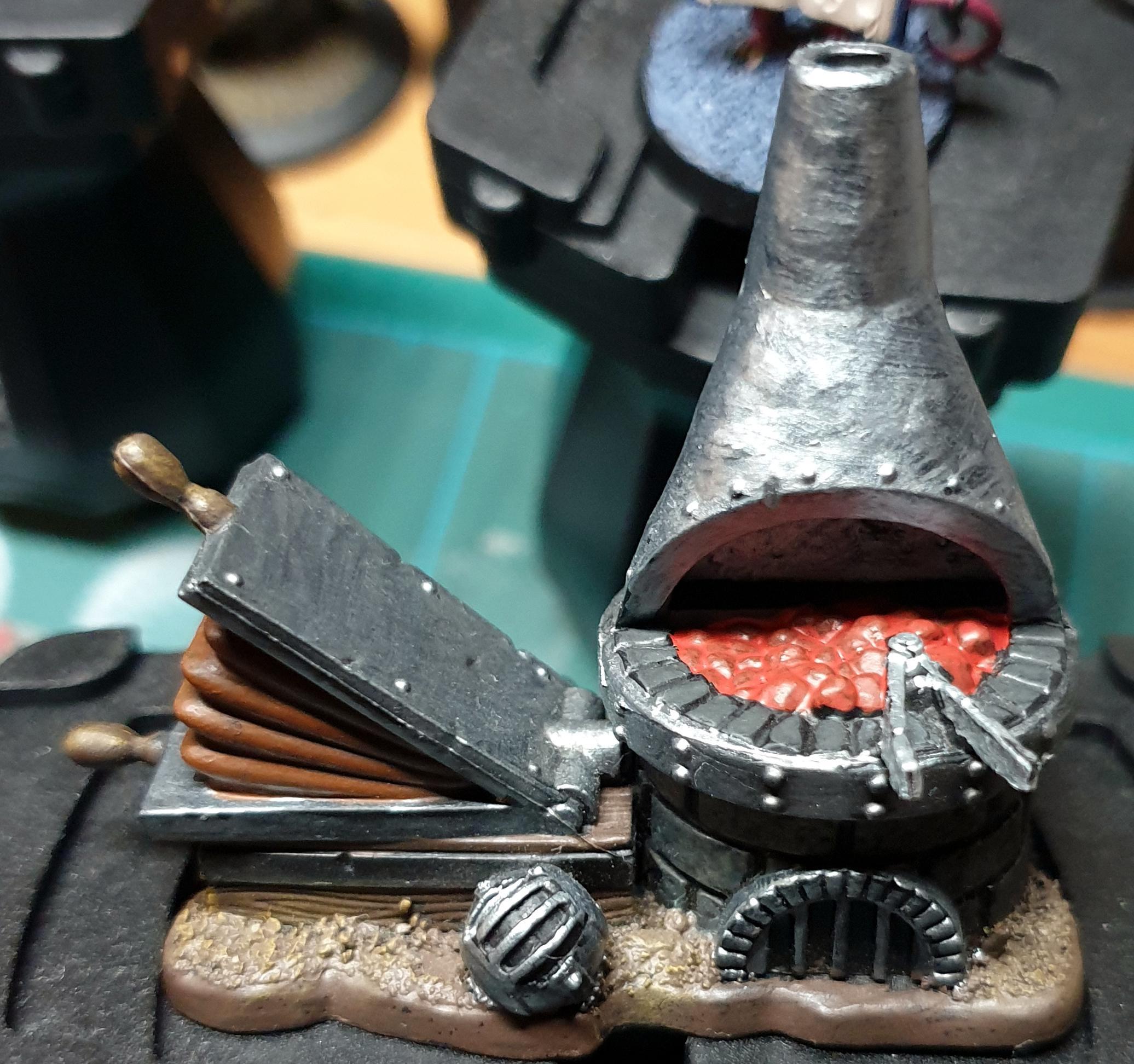 Blacksmith's Guild, Guild Ball, Terrain, Work In Progress