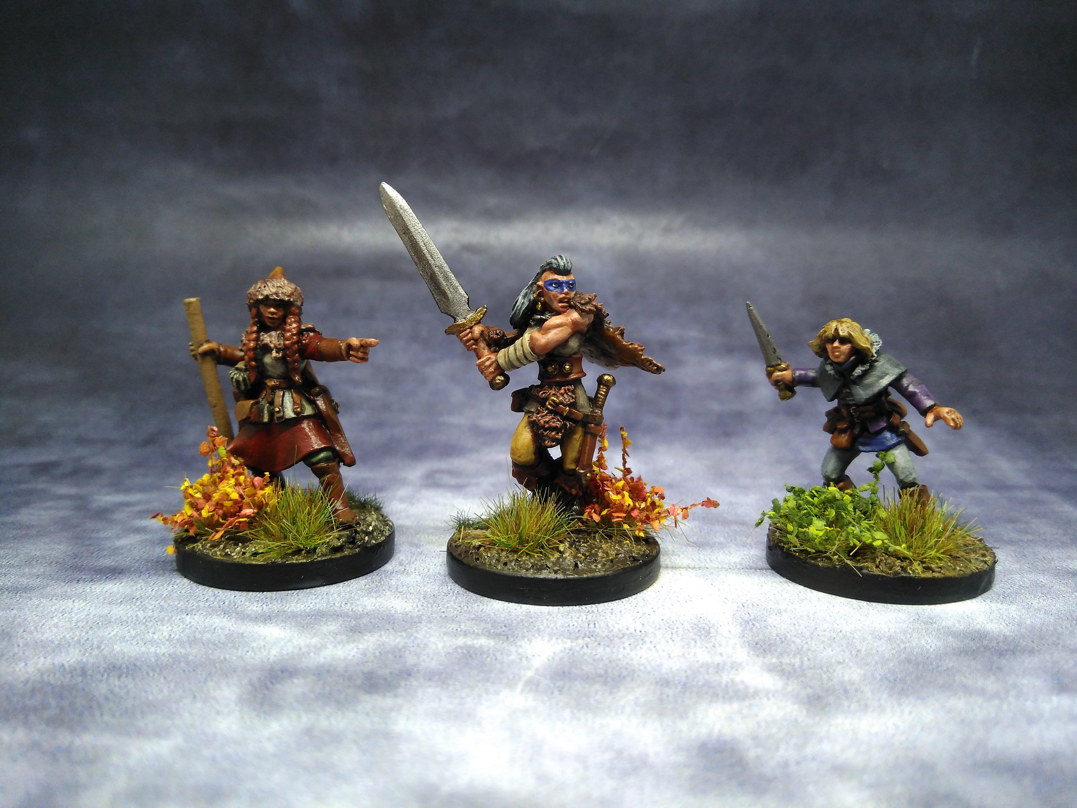 Female, Frostgrave, March 2019, Northstar, Soldiers, Women