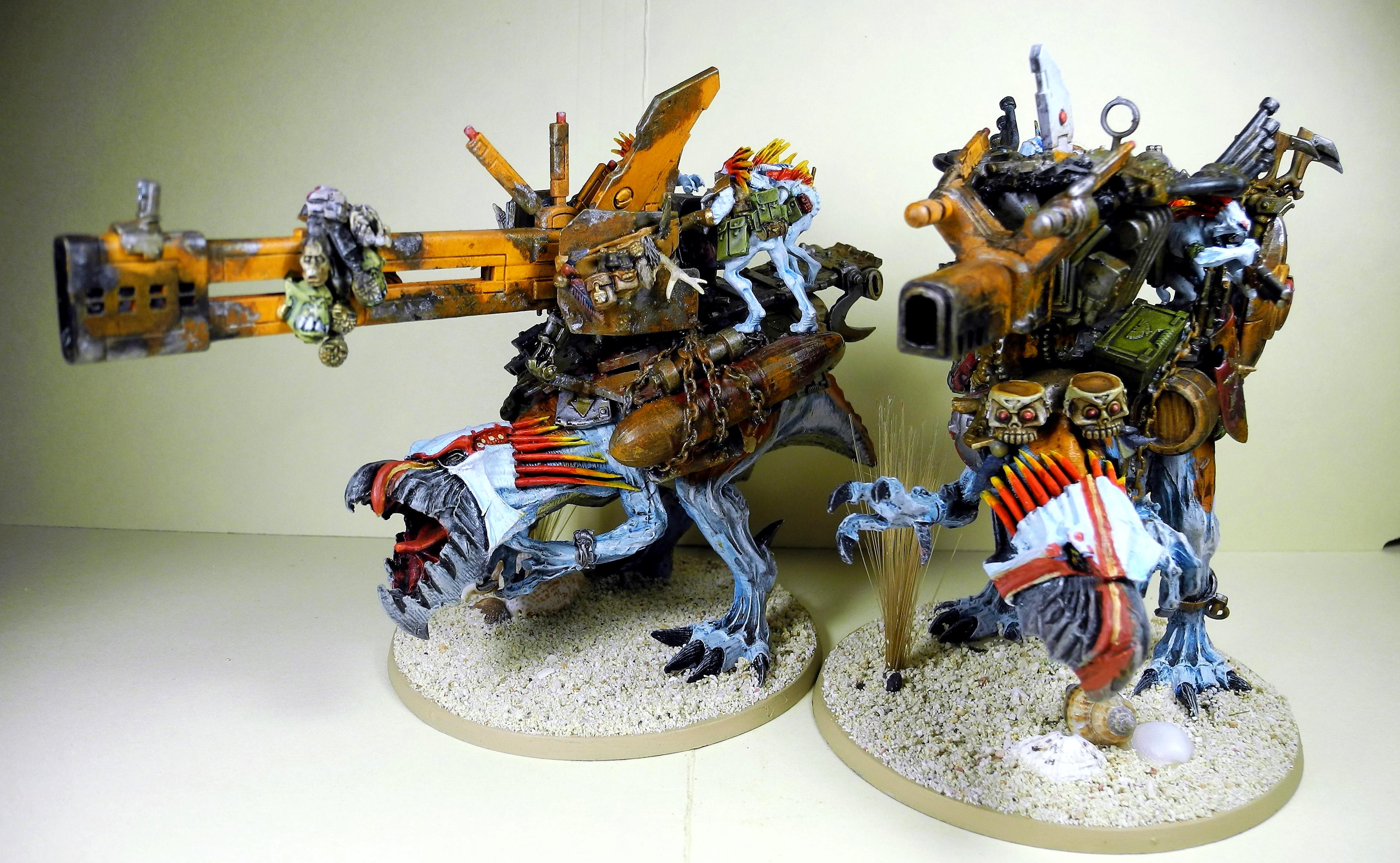 Cavalry, Greater Knarloc, Knarloc, Kroot, Mercenary, Xenos