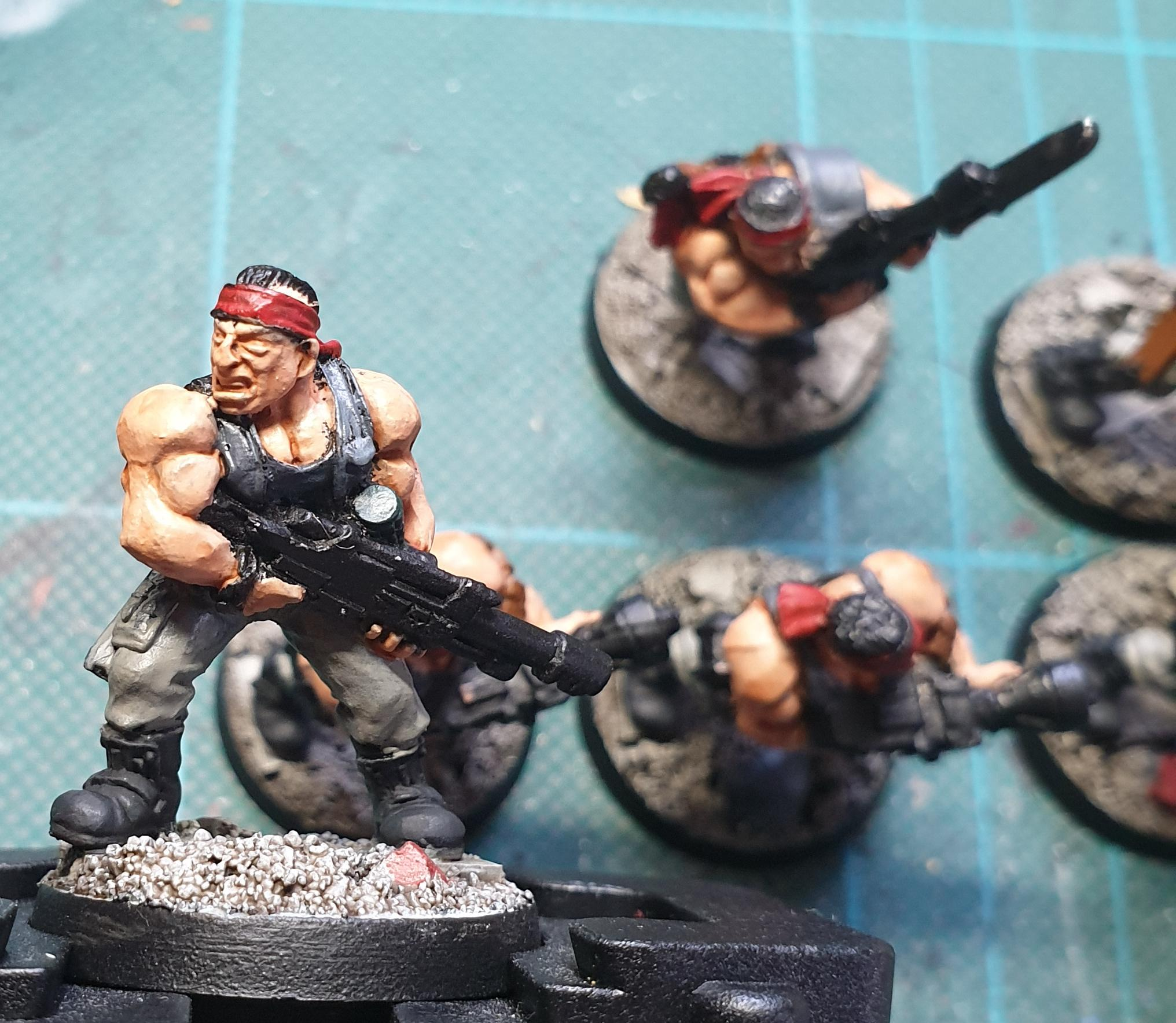 Catachan, Imperial Guard, Work In Progress