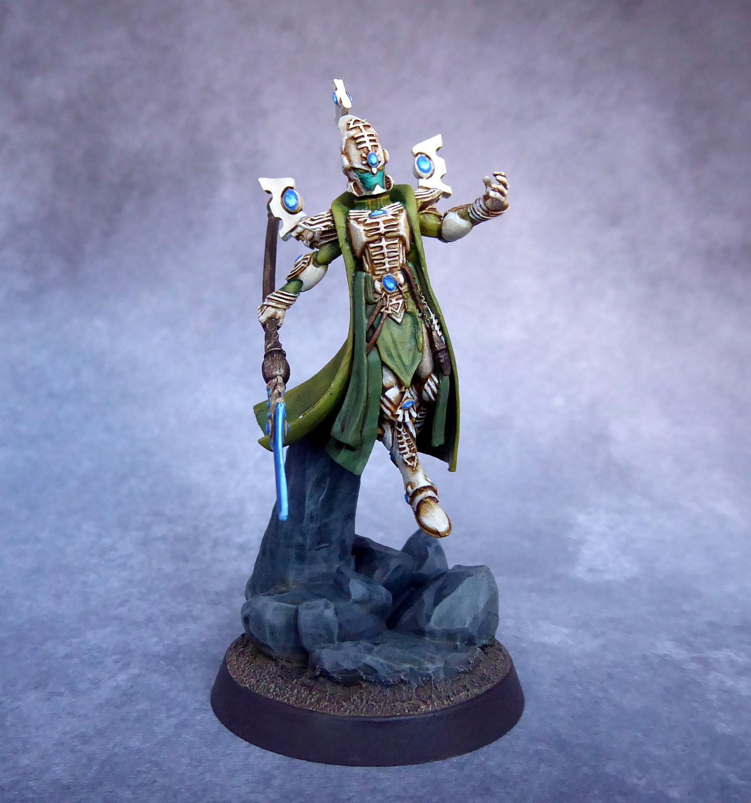 Aeldari, Artel W, Eldar, Exodites, Farseer, Warlock