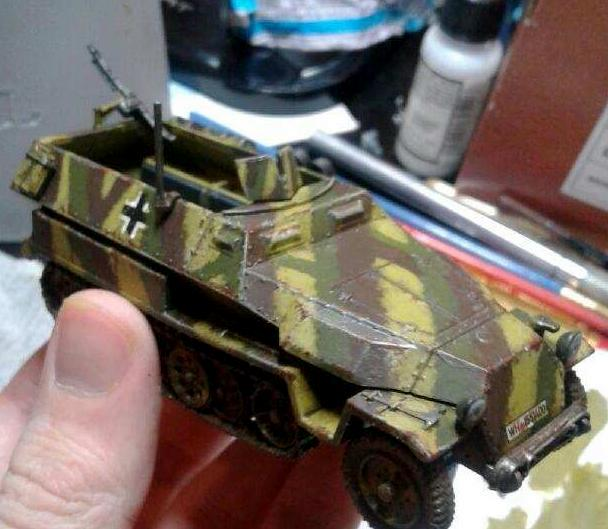 Bolt Action Hanomag/Half Track