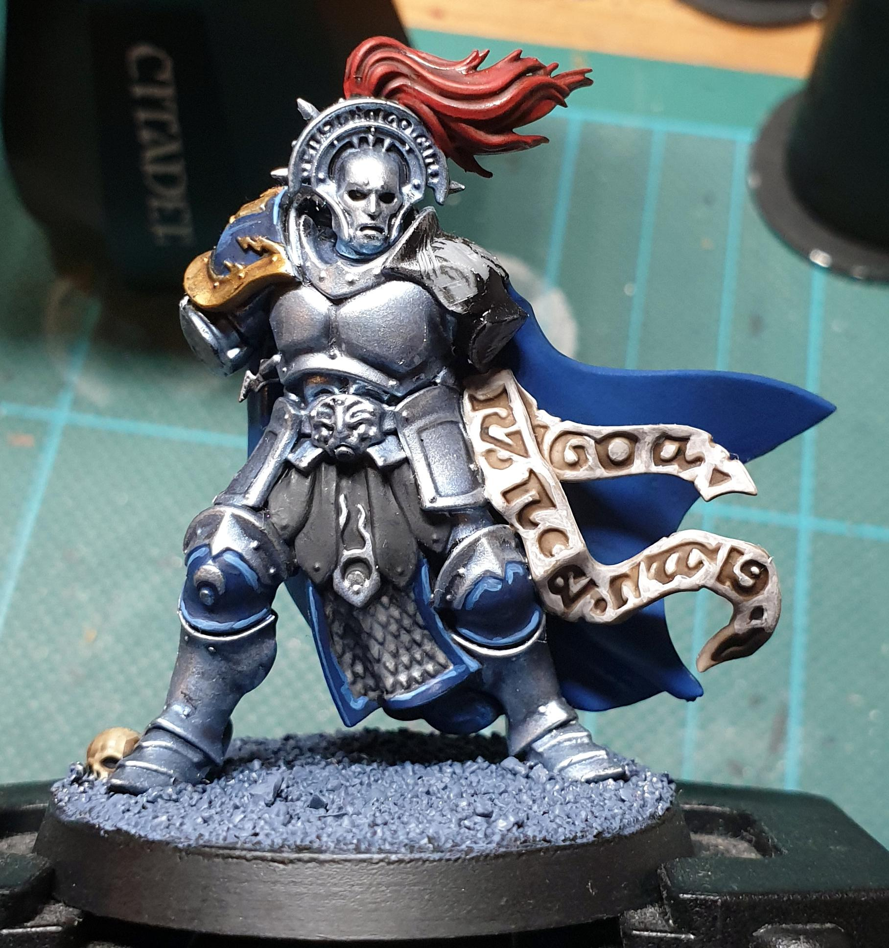 Silver Tower, Stormcast, Work In Progress