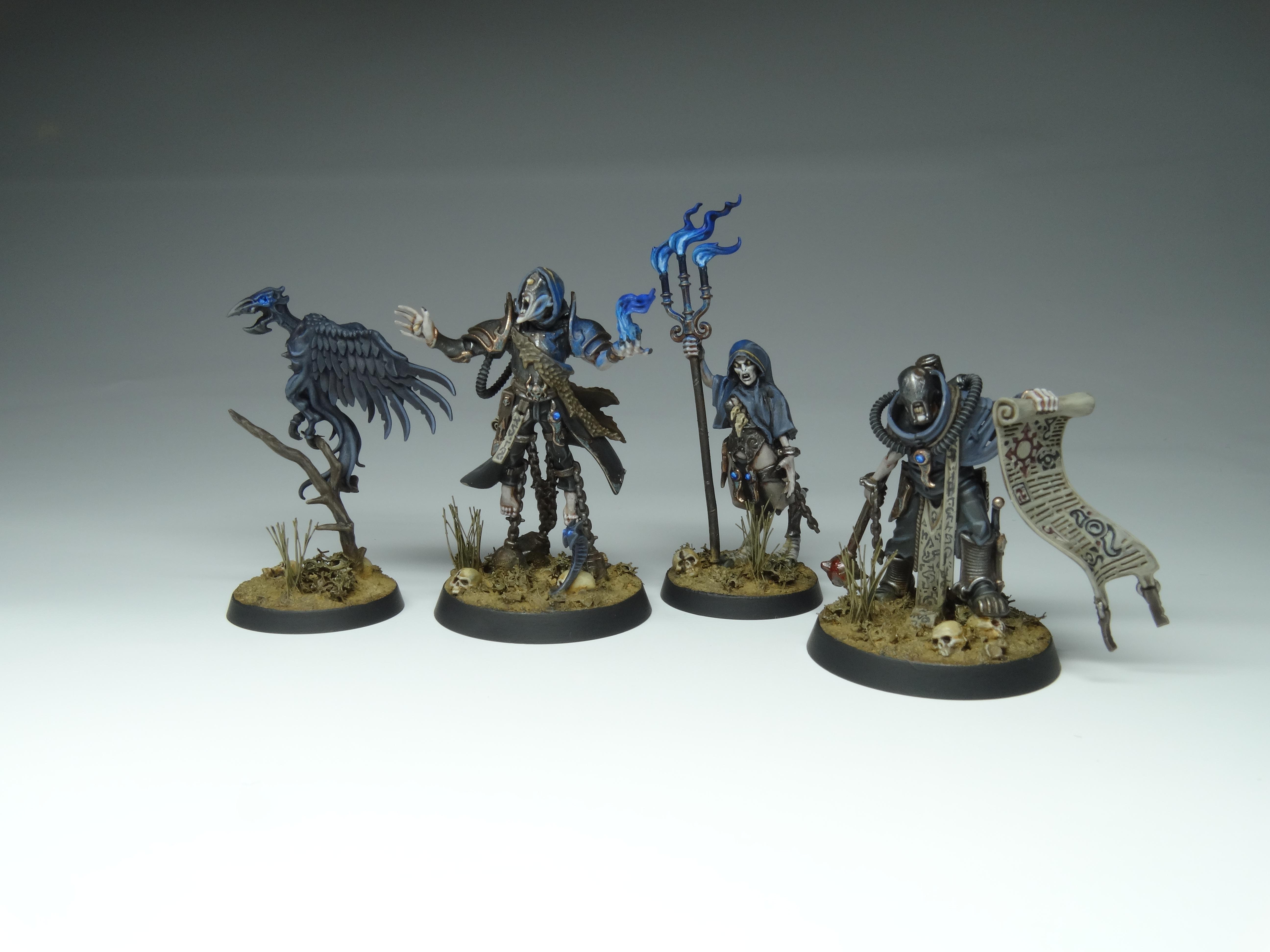 Chaos, Conversion, Cultists, Inq28, Inquisimunda, Kitbash, Necromunda, Object Source Lighting, Rogue Psyker, Tzeentch, Warhammer 40,000