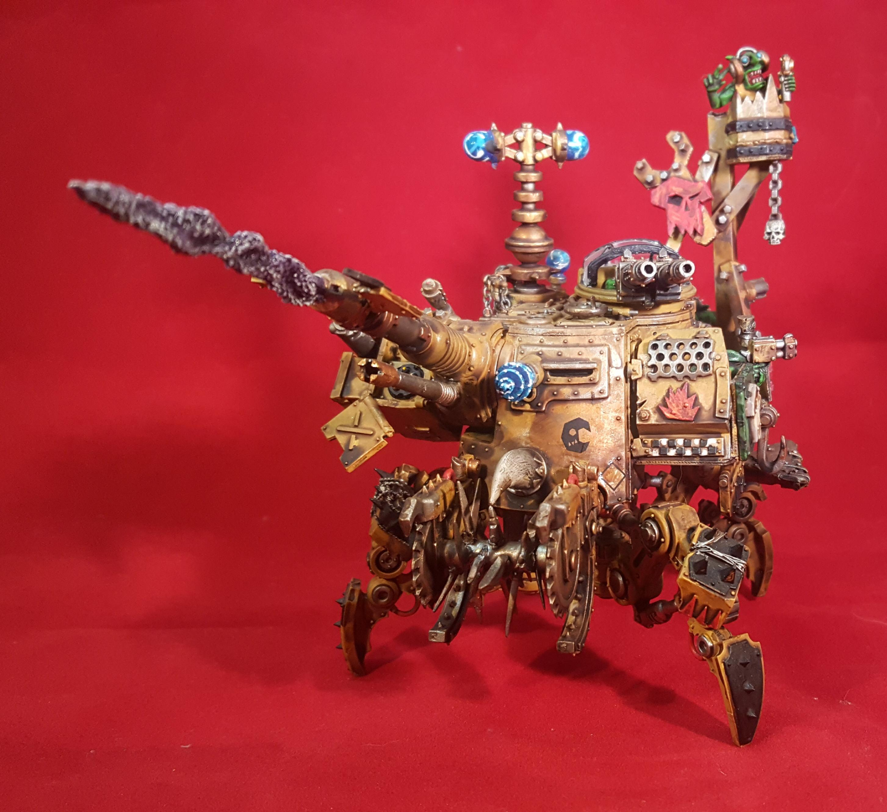 Dreadnought, Looted, Mechanicum, Mob, Orks, Wagon, Walkers