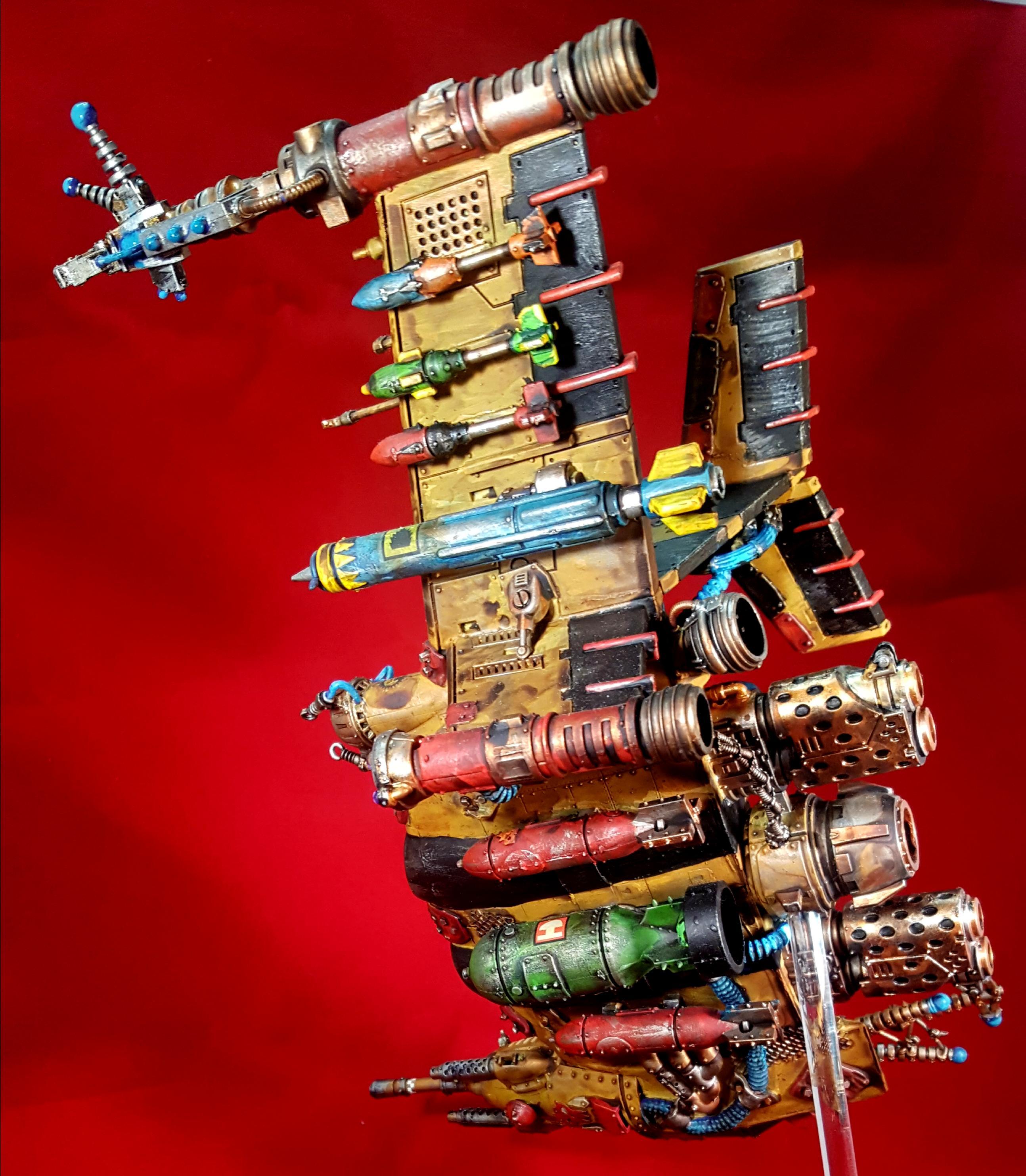 Aircraft, Bad, Dakka Dakka, Dreadnought, Jet, Looted, Mechanicum, Mob, Moons, Orks, Wagon, Walkers