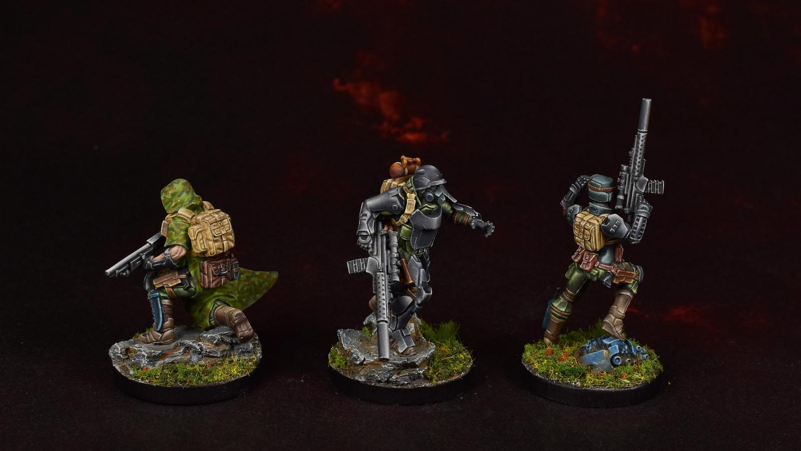 Ariadna, Scouts, Tankhunter, Tartary Army Corps, Veteran