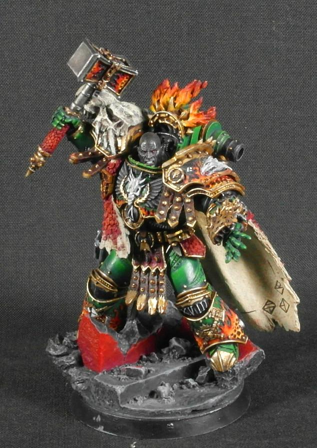 30k, Forge World, Horus Heresy, Primarch, Salamanders, Vulkan