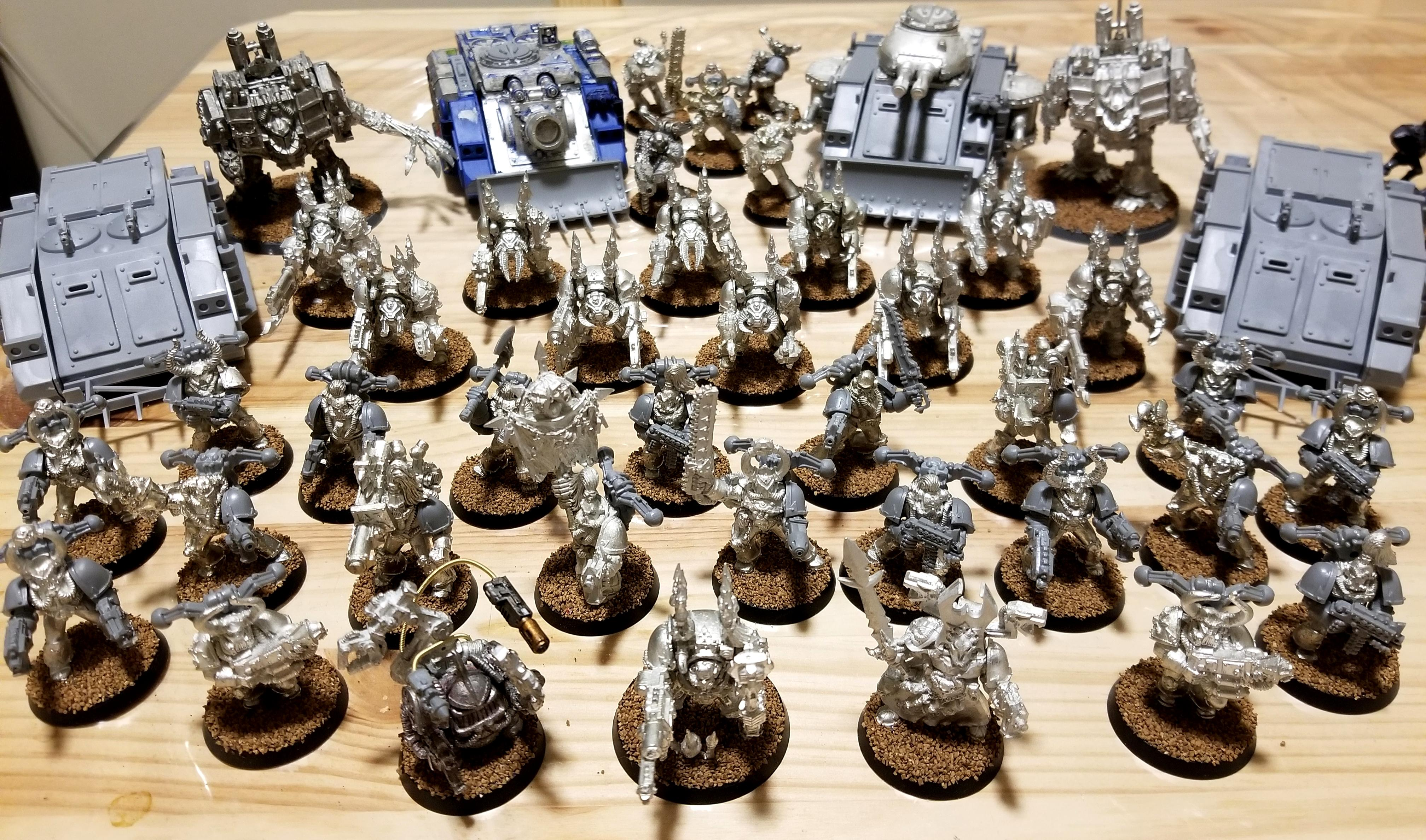2nd Edition, Chaos Space Marines, Iron Hands