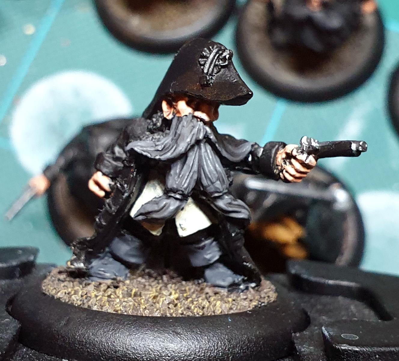 Black Scorpion Miniatures, Dwarves, Pirate