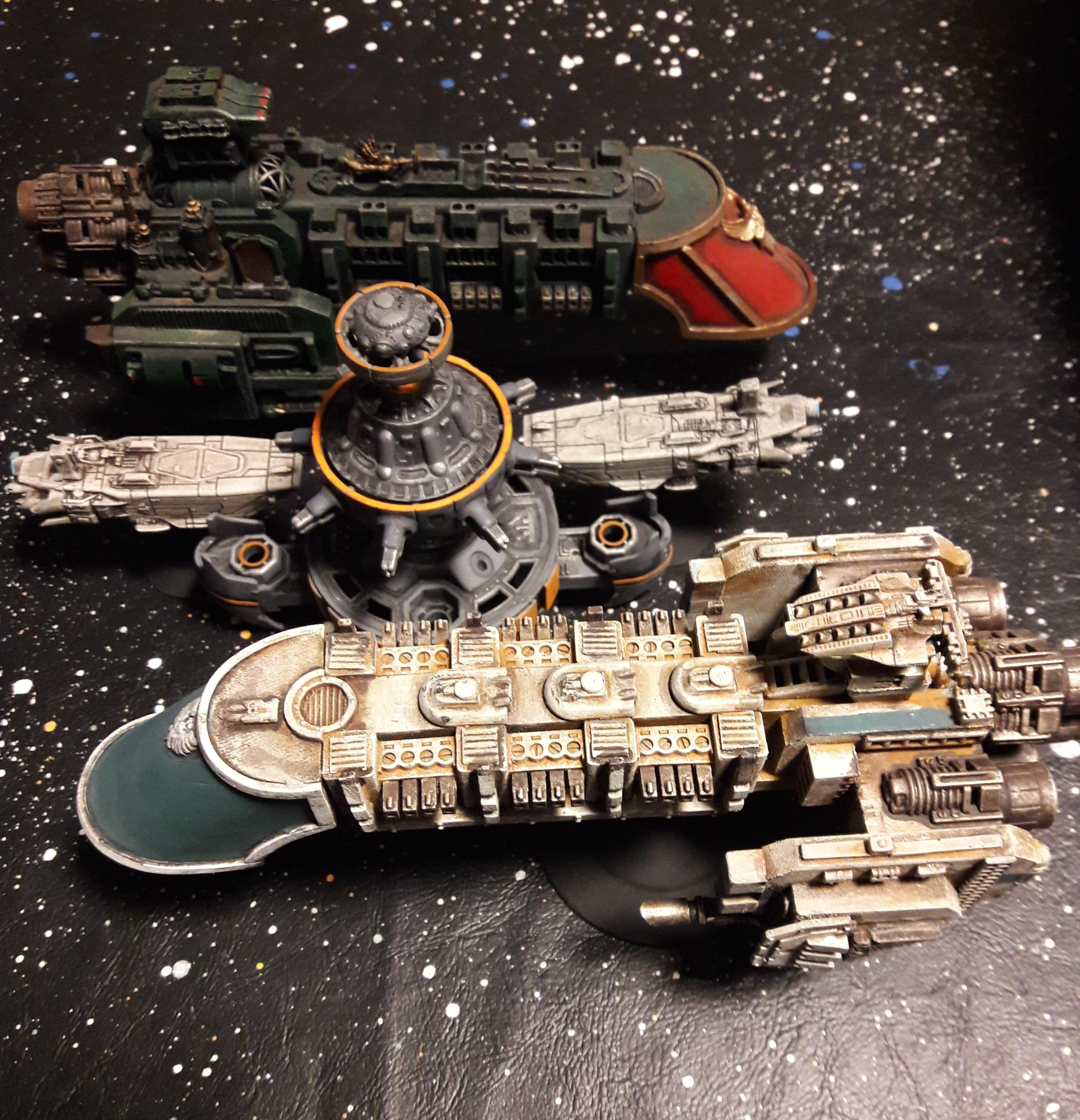 Battlefleet Gothic, Large Scale, Rpg, Space Station