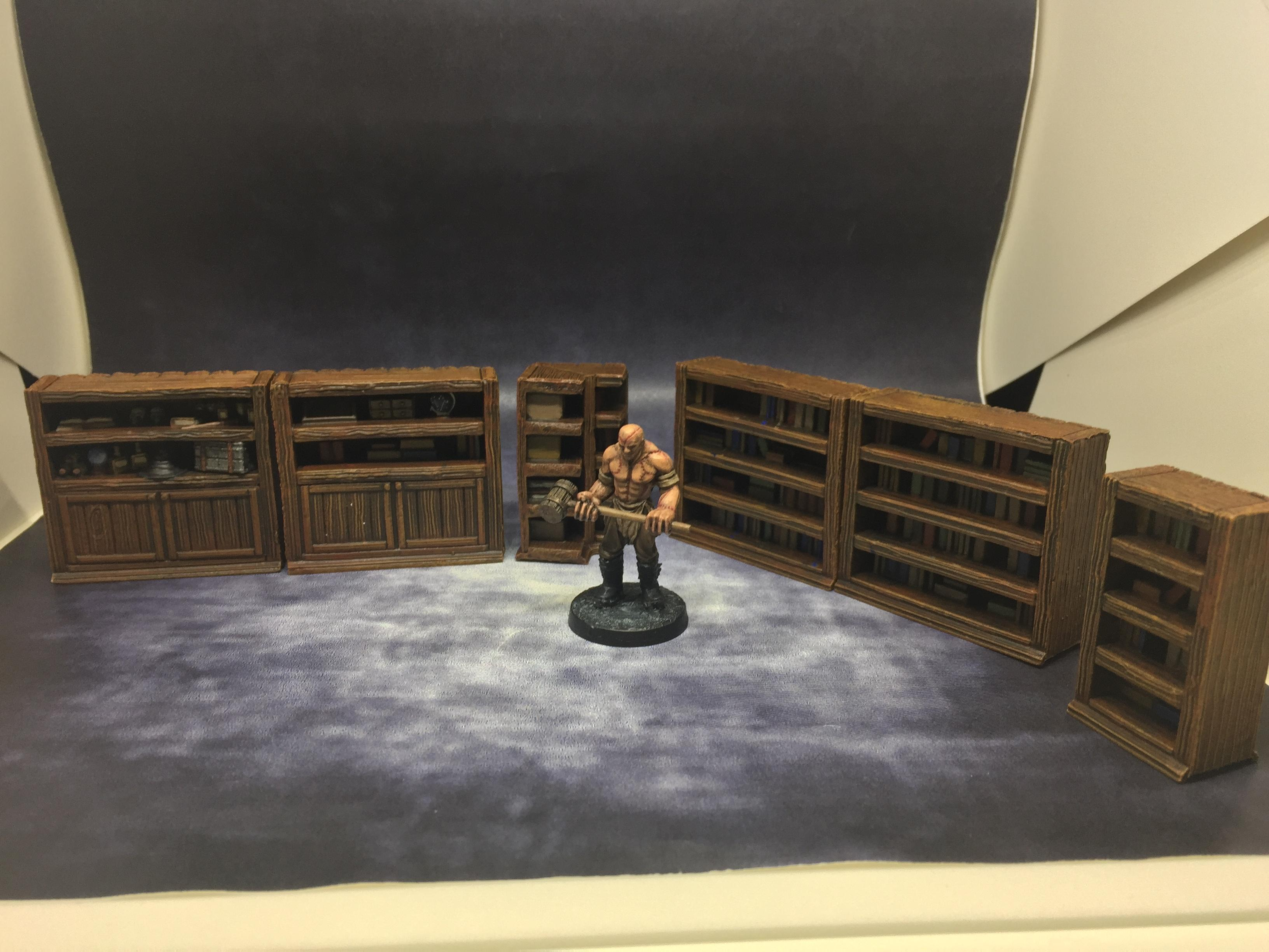 Dungeon, Mantic, March 2019, Scatter, Terrain, Terrain Crate