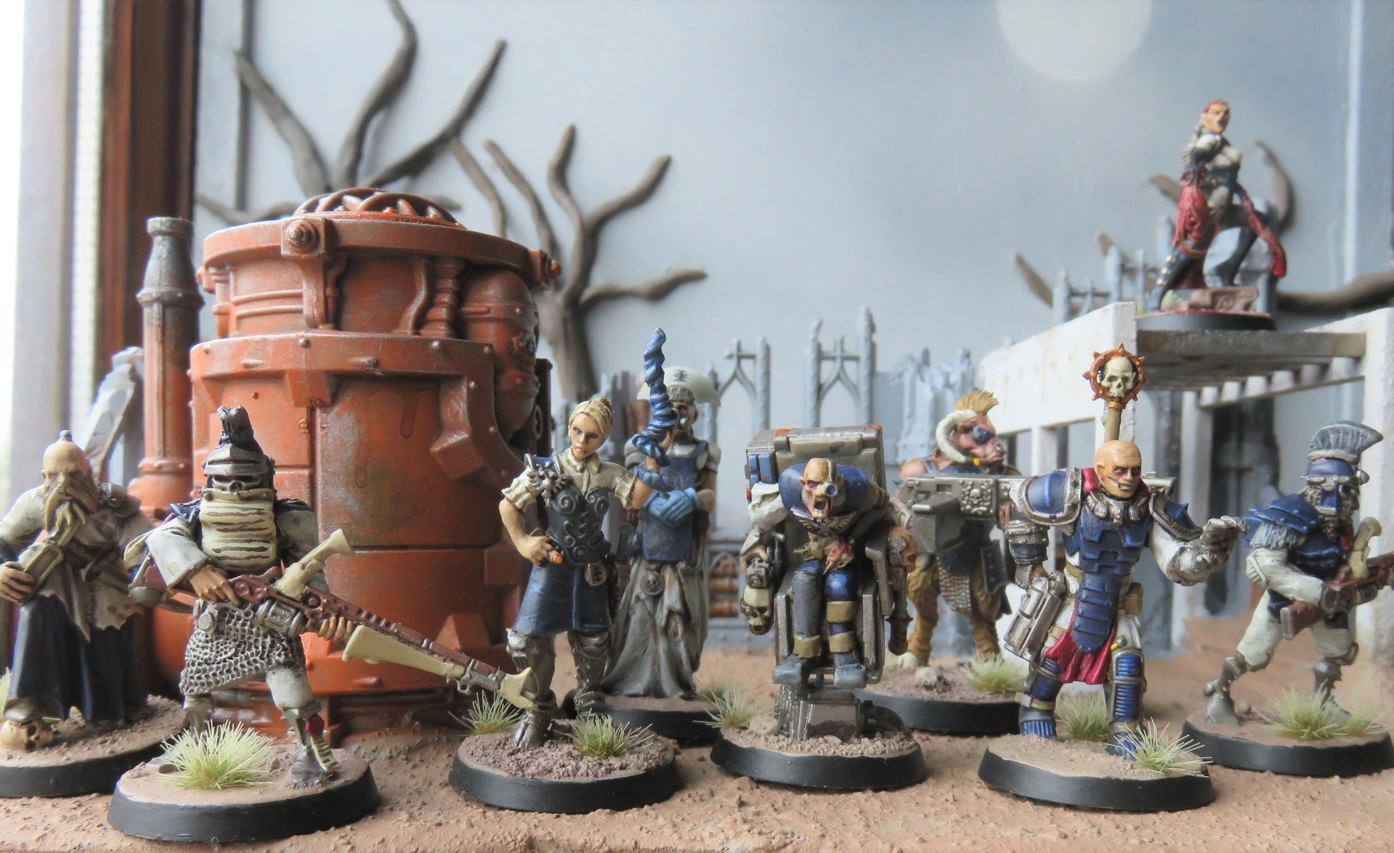 Inq28, Inquisitor, Ordo Miraculus, Retinue, Warband