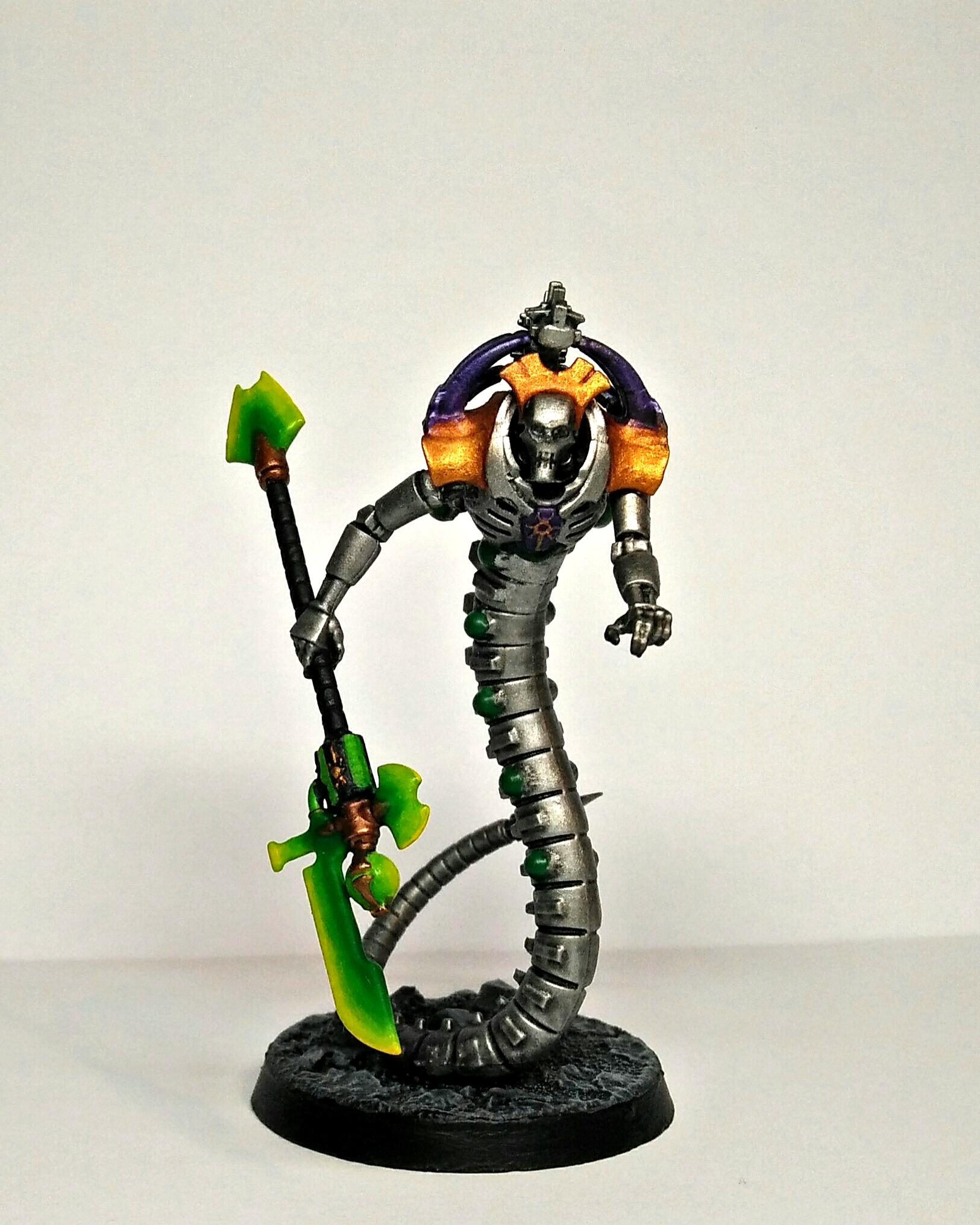 Conversion, Kitbash, Lord, Necrons, Wraithlord