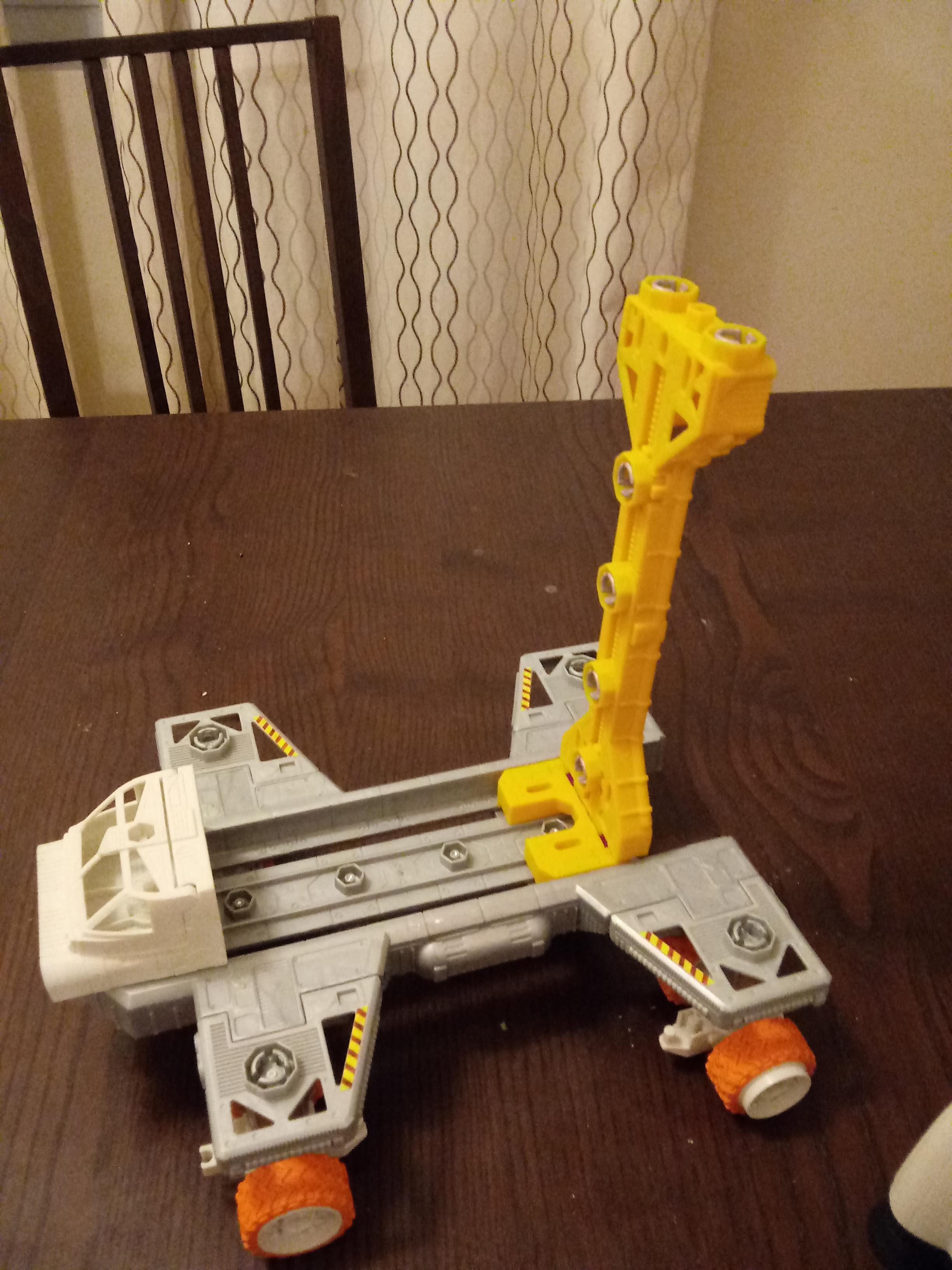 Factory, Spaceship, Terrain, Toybashing
